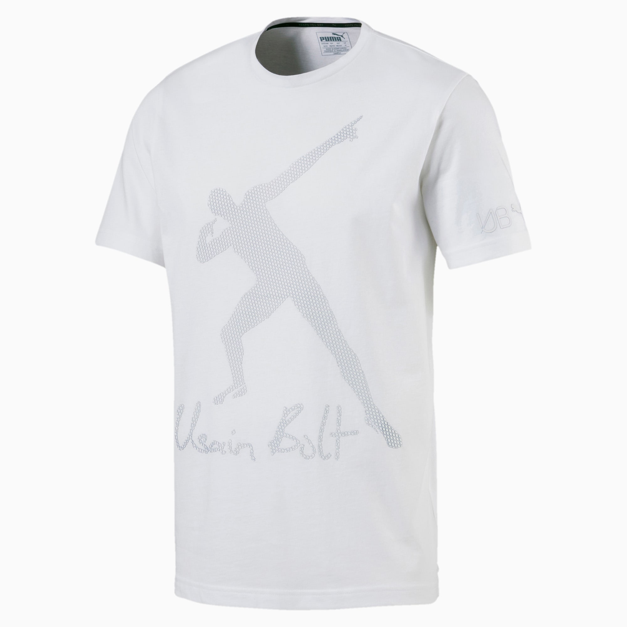 Salón de clases carpintero esposa  Usain Bolt Men's Graphic T-Shirt | PUMA US