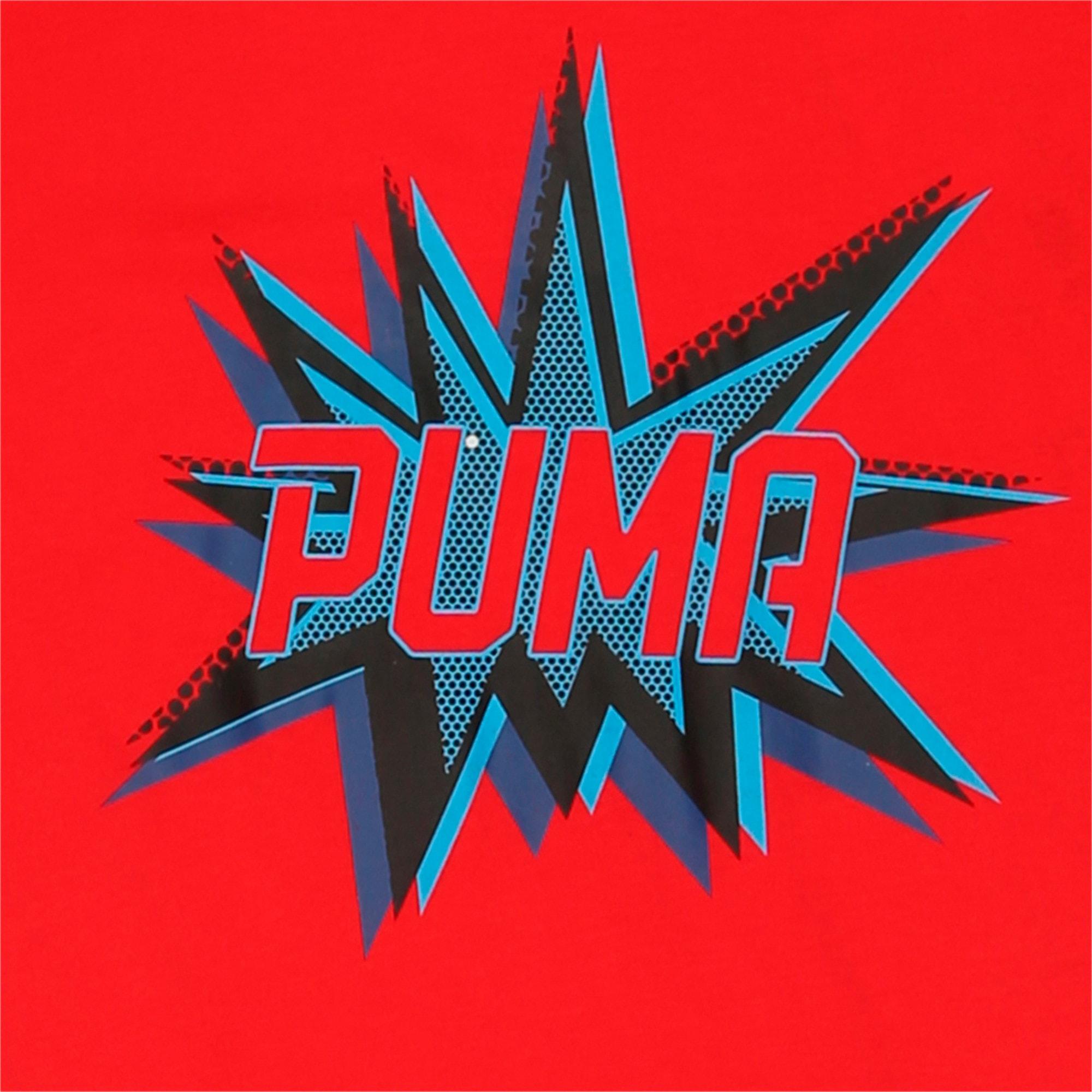 Thumbnail 1 of PUMA POW Tee, High Risk Red, medium-IND
