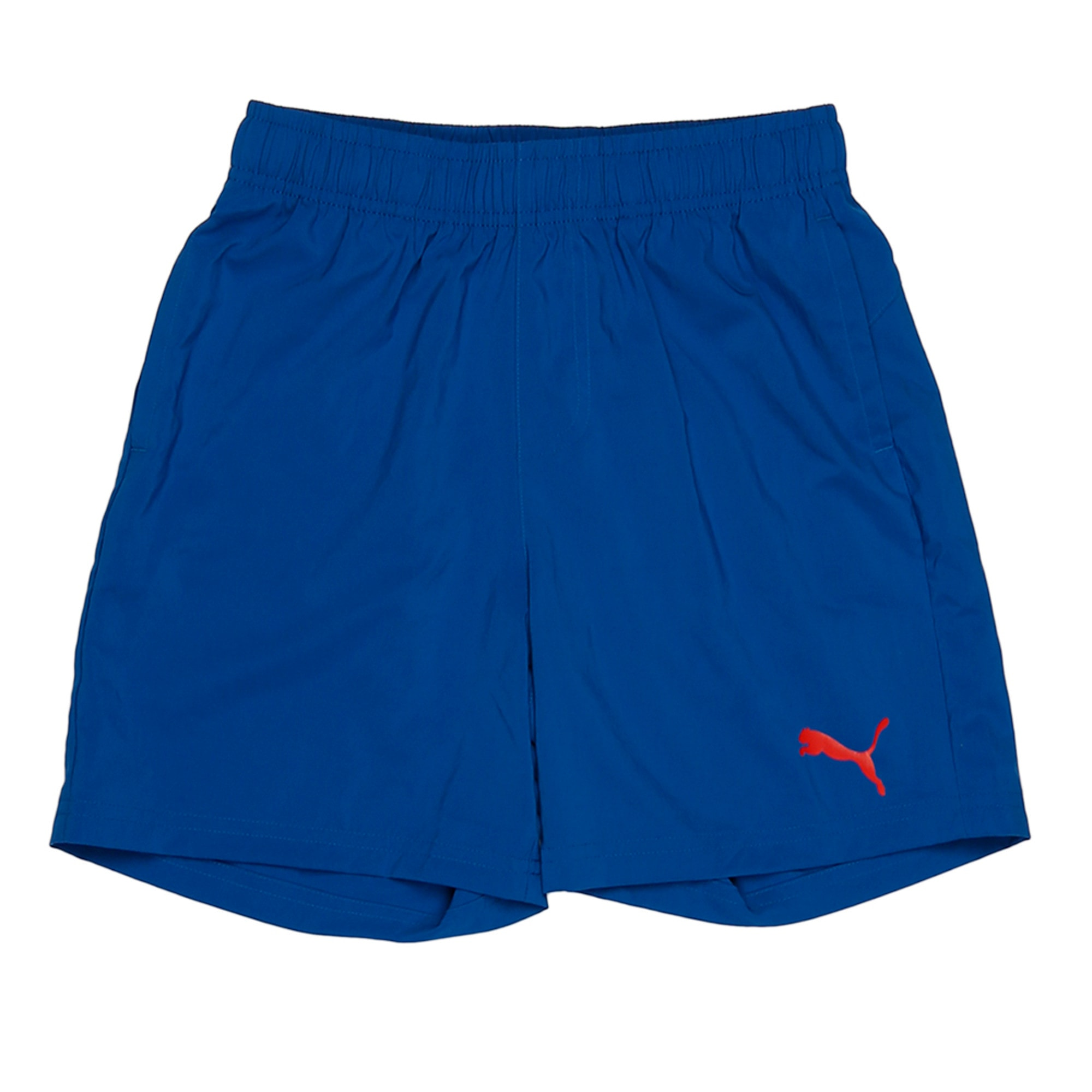 "Thumbnail 2 of ESS Woven Shorts 5"", TRUE BLUE, medium-IND"