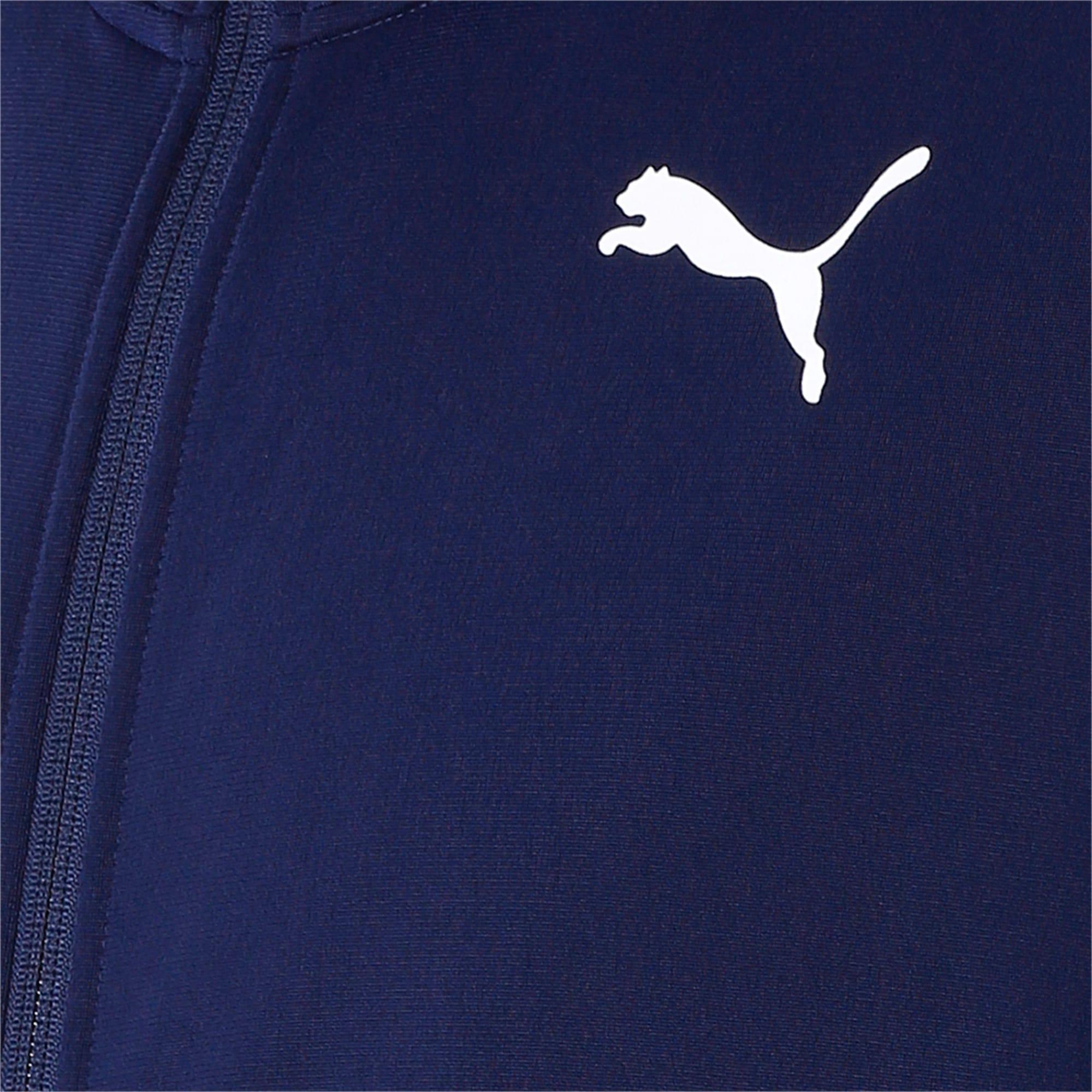 Thumbnail 6 of Classic Tricot Men's Track Suit, Peacoat-Puma White, medium-IND