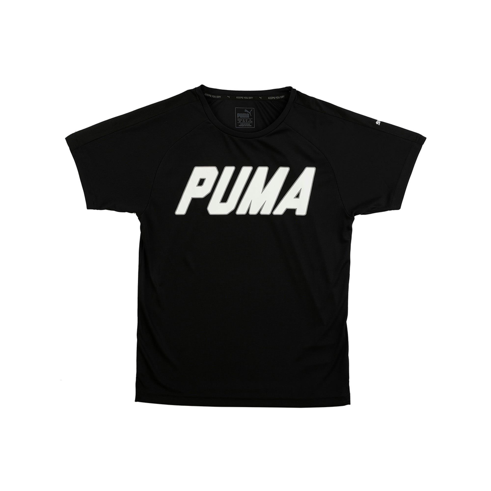 Thumbnail 2 of Gym Graphic Tee Puma Black, Puma Black, medium-IND