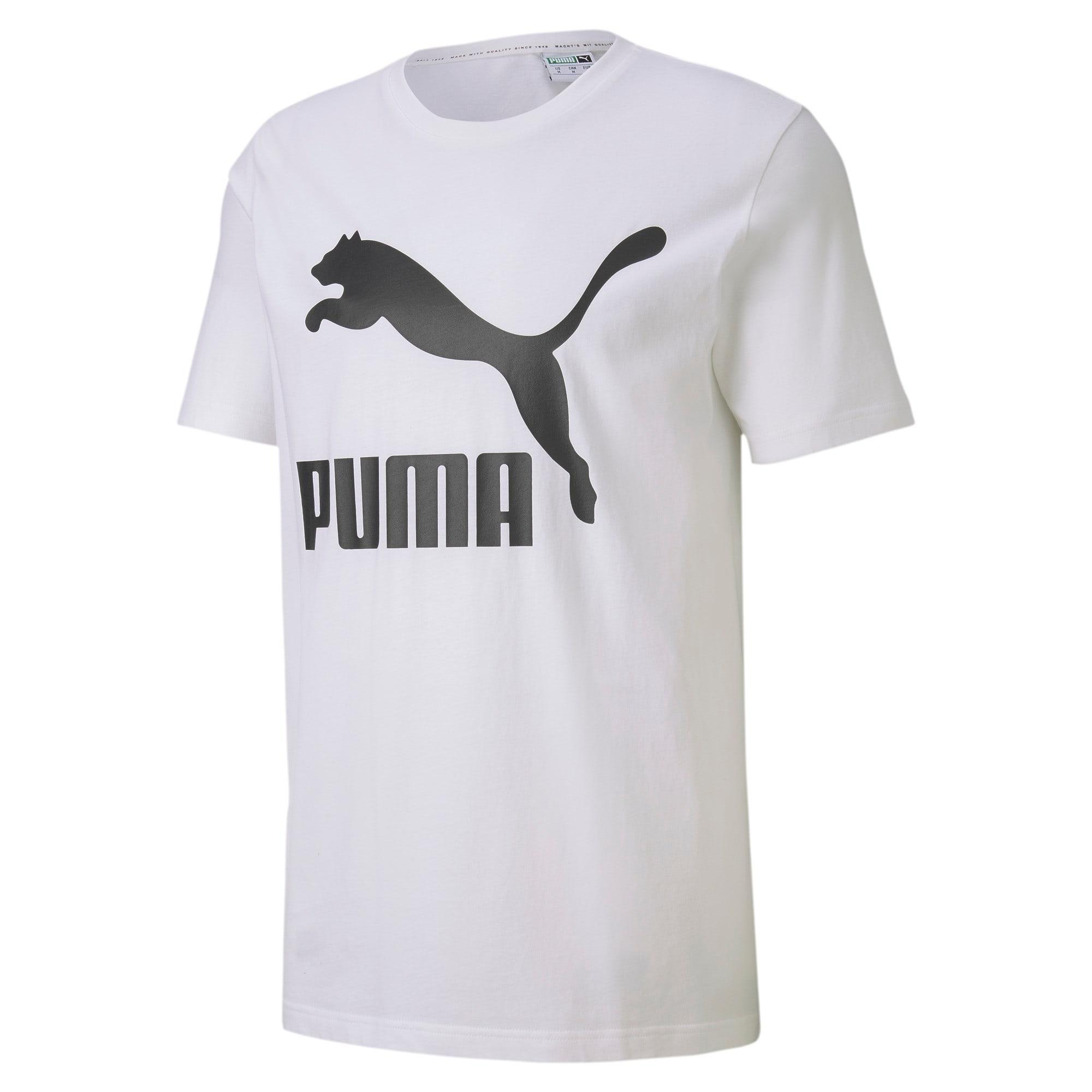 Thumbnail 4 van Classics T-shirt met logo voor mannen, Puma White, medium