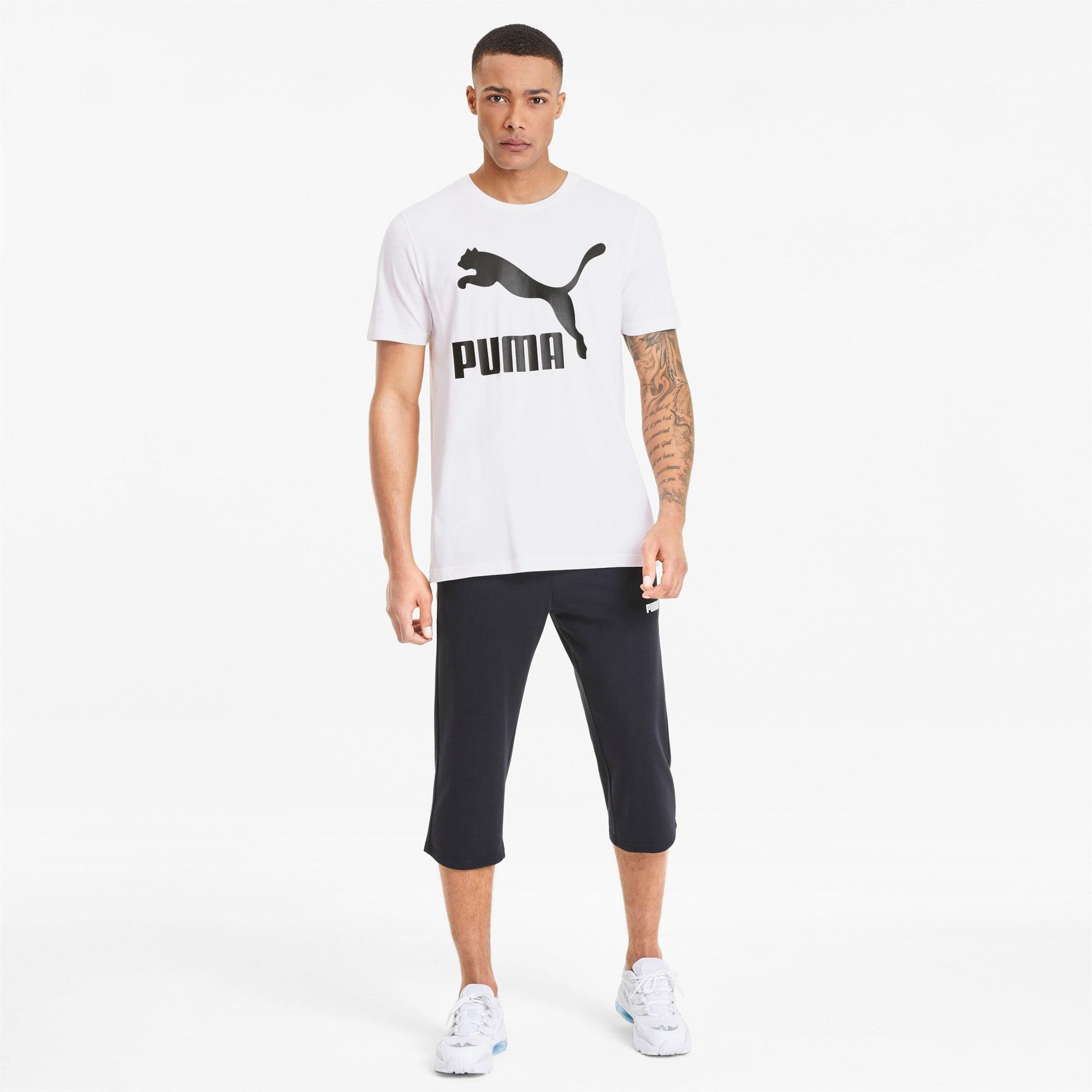 Thumbnail 3 van Classics T-shirt met logo voor mannen, Puma White, medium