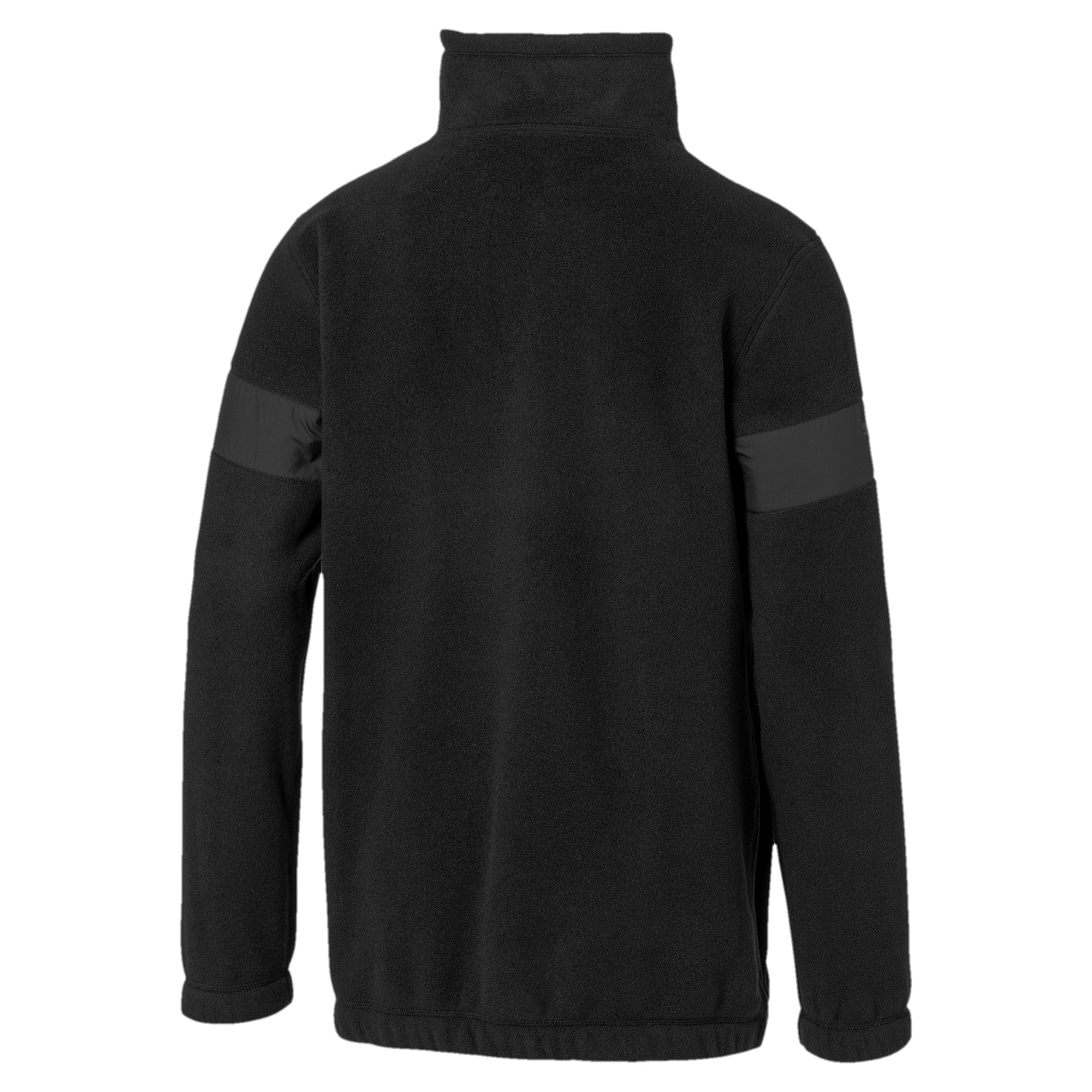 Thumbnail 6 of Pull BMW Motorsport Fleece Half Zip pour homme, Puma Black, medium