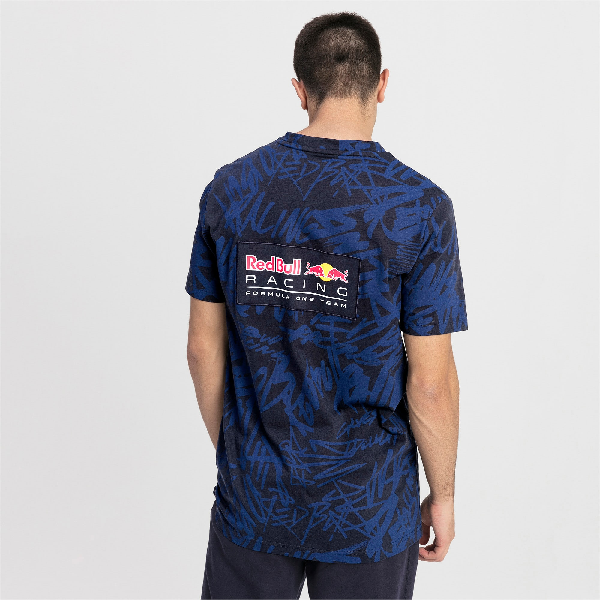 Thumbnail 2 of Red Bull Racing T-shirt voor heren, NIGHT SKY, medium