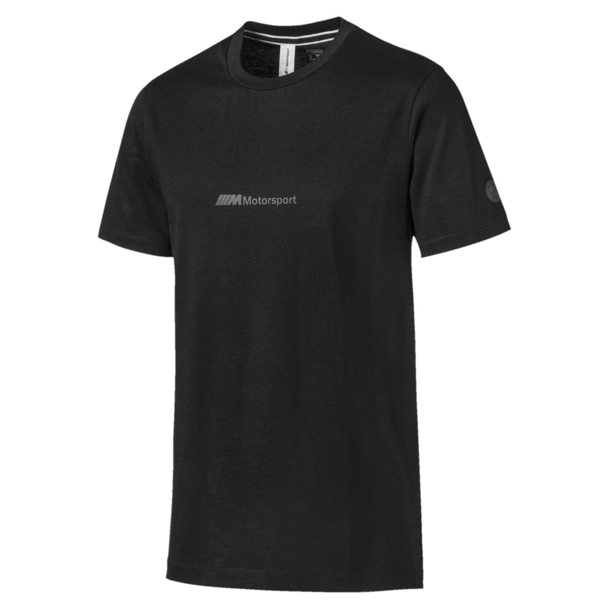 Thumbnail 4 of T-shirt BMW Motorsport Life uomo, Puma Black, medium