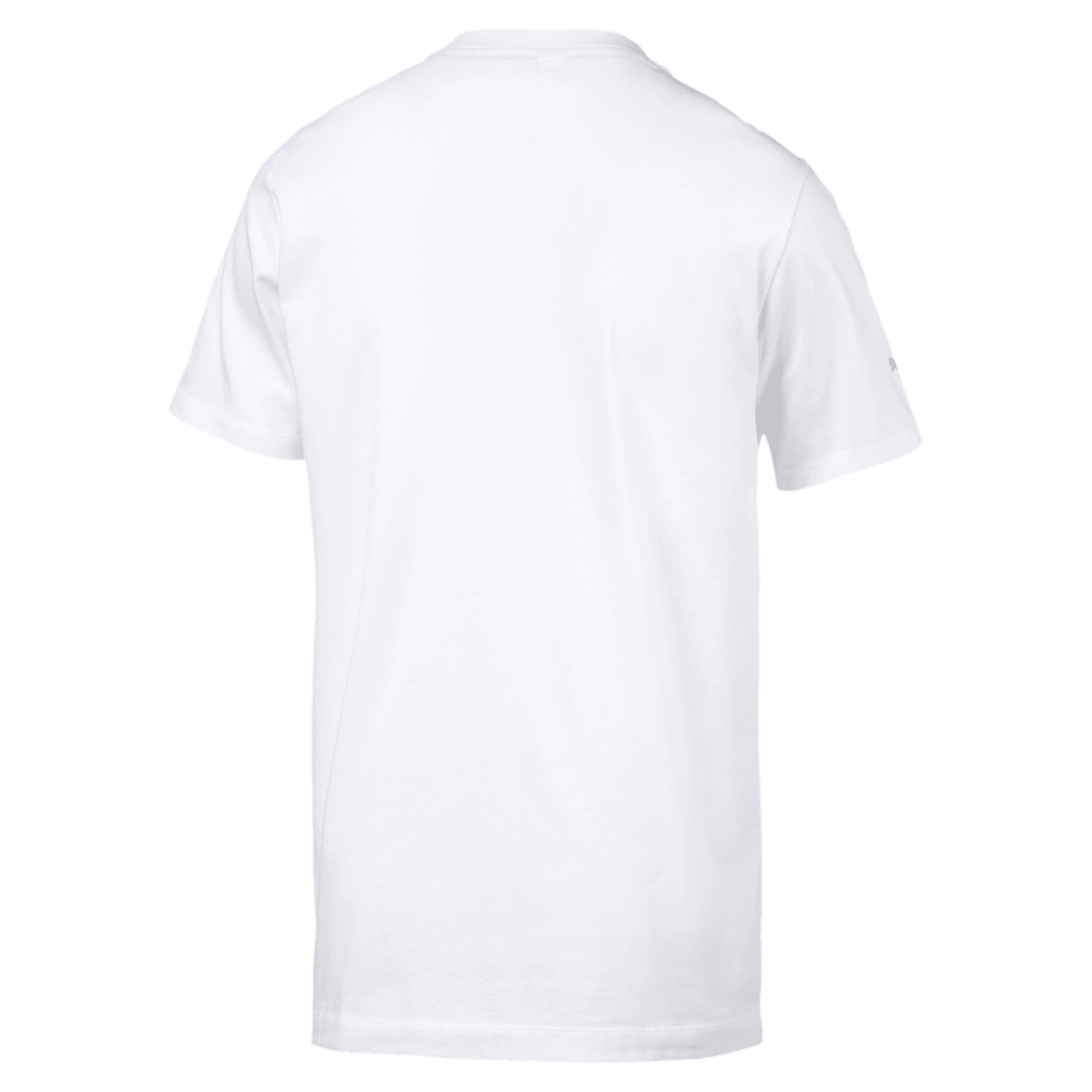 Thumbnail 4 of BMW Motorsport Life T-shirt voor heren, Puma White, medium