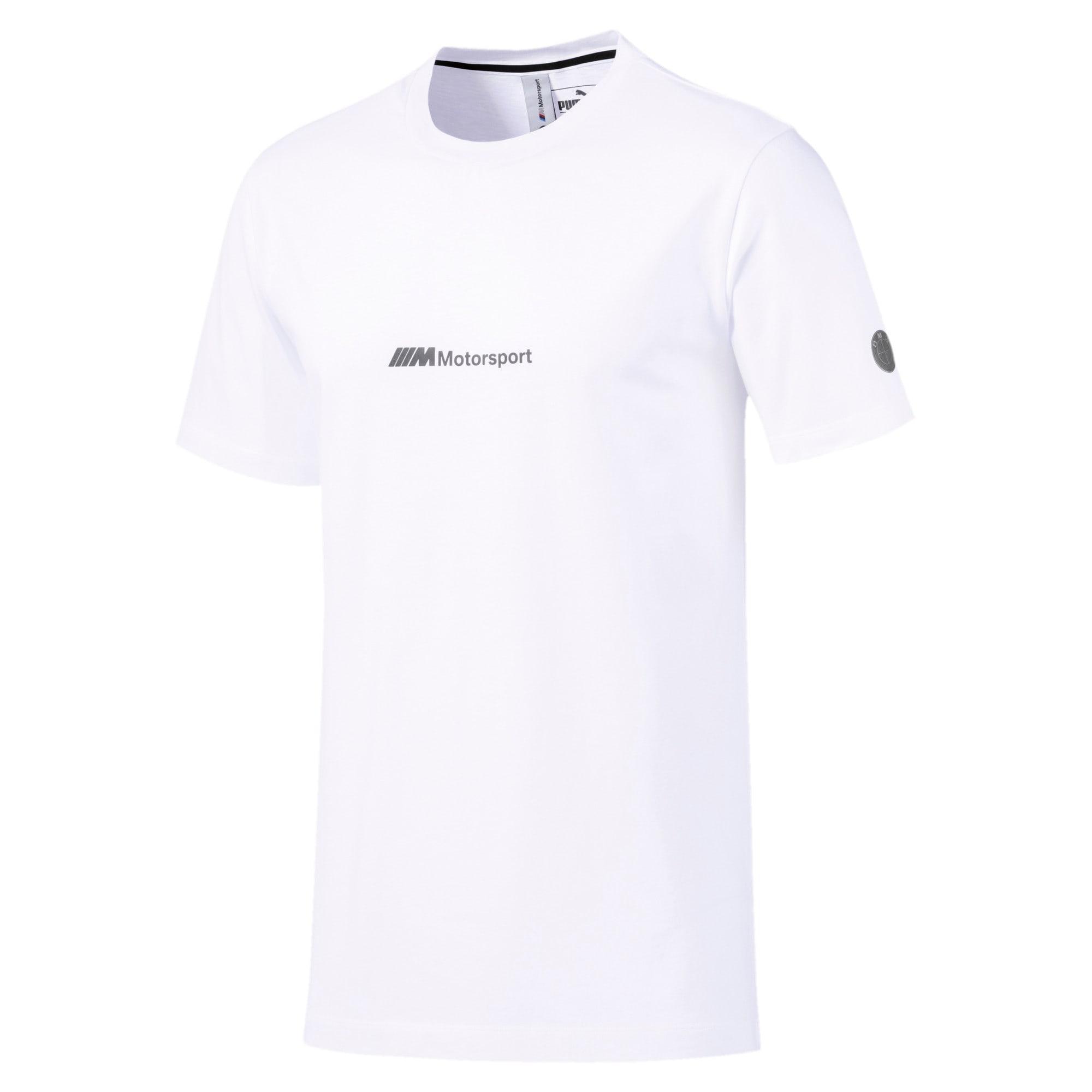 Thumbnail 3 of BMW Motorsport Life T-shirt voor heren, Puma White, medium