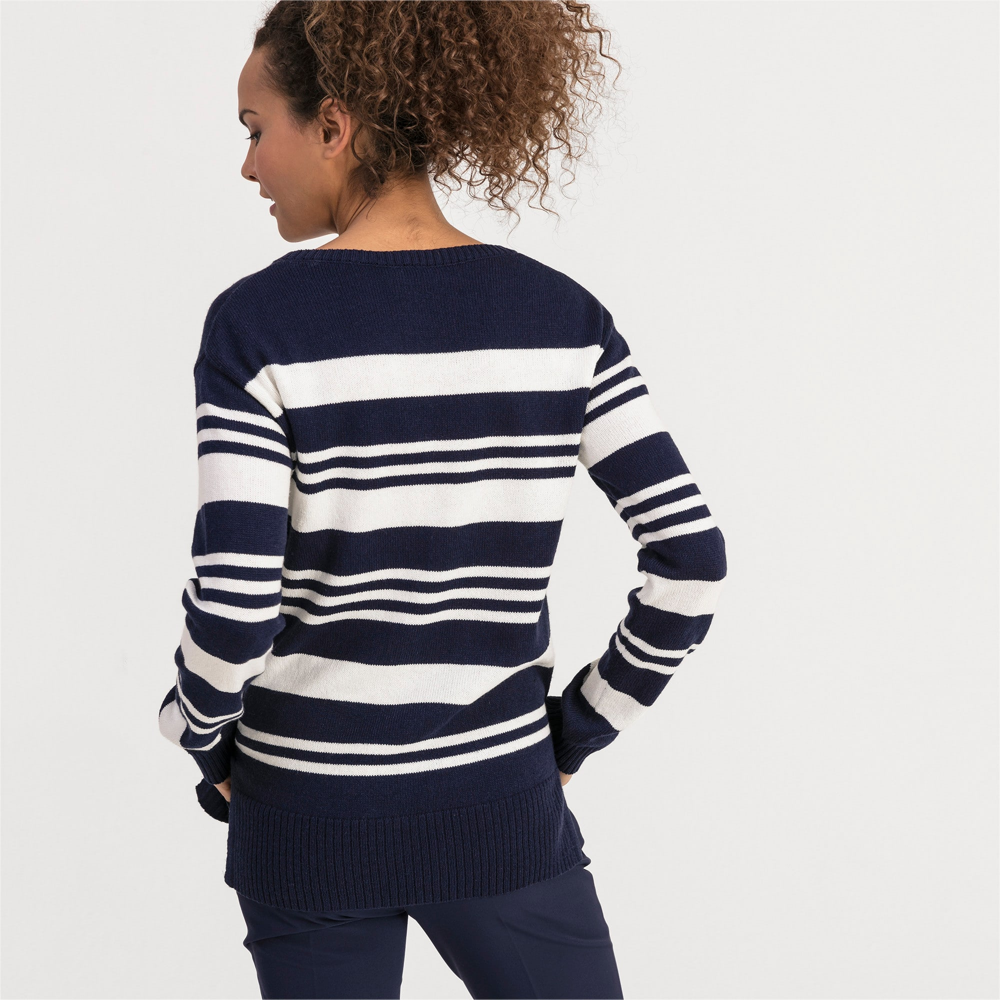 Thumbnail 2 of Damen Golf Sweatshirt, Peacoat, medium