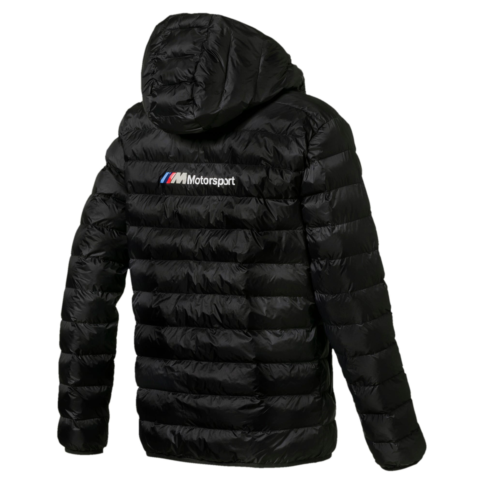 Thumbnail 6 of BMW Motorsport Eco PackLite Men's Jacket, Puma Black, medium
