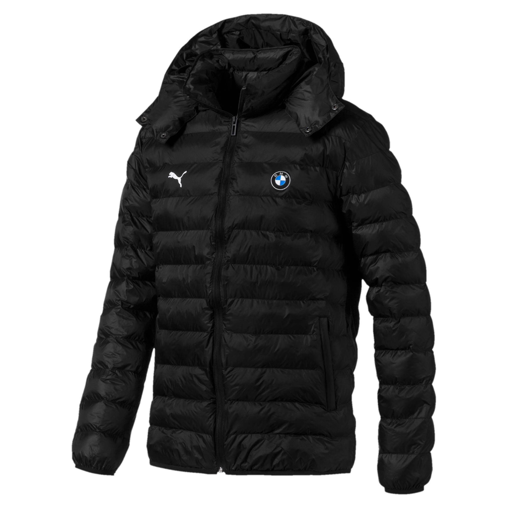 BMW Motorsport Eco PackLite Men's Jacket, Puma Black, large