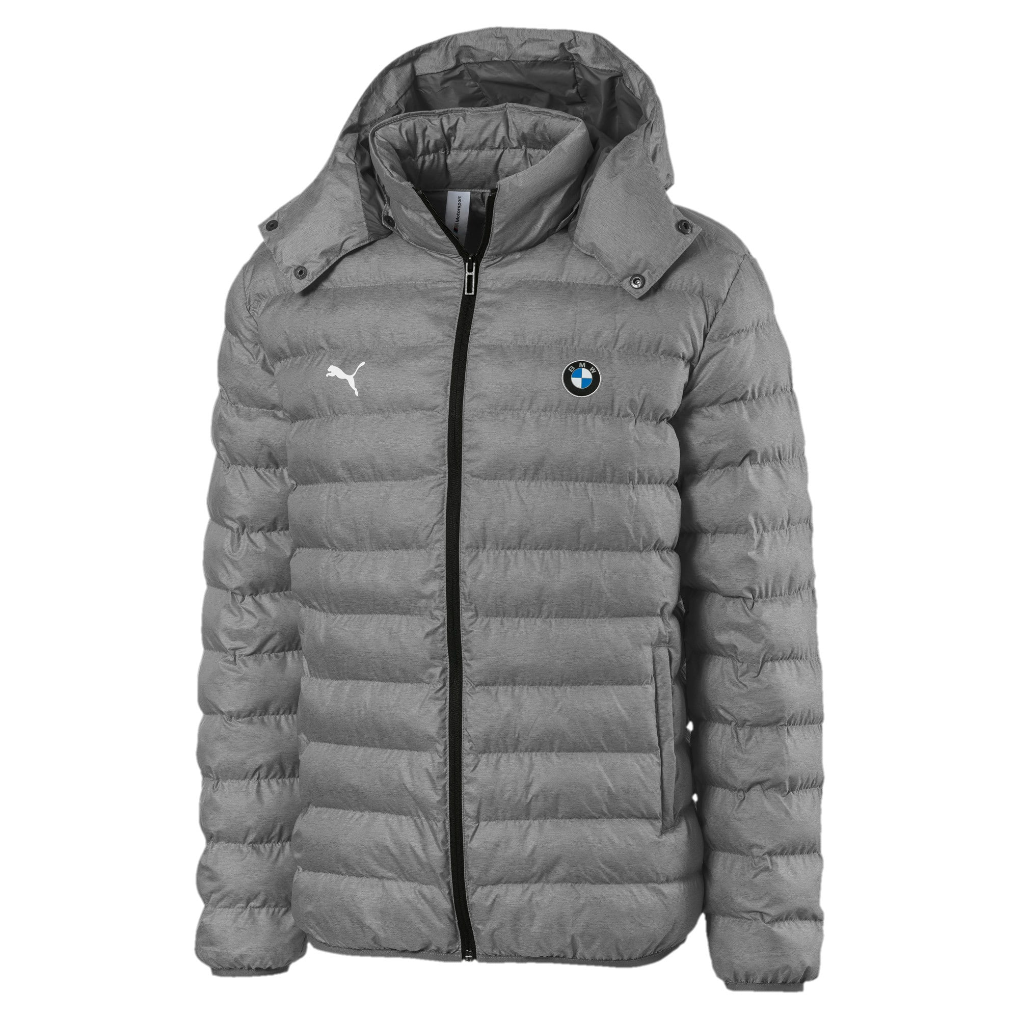 Thumbnail 5 of BMW Motorsport Eco PackLite Men's Jacket, Medium Gray Heather, medium