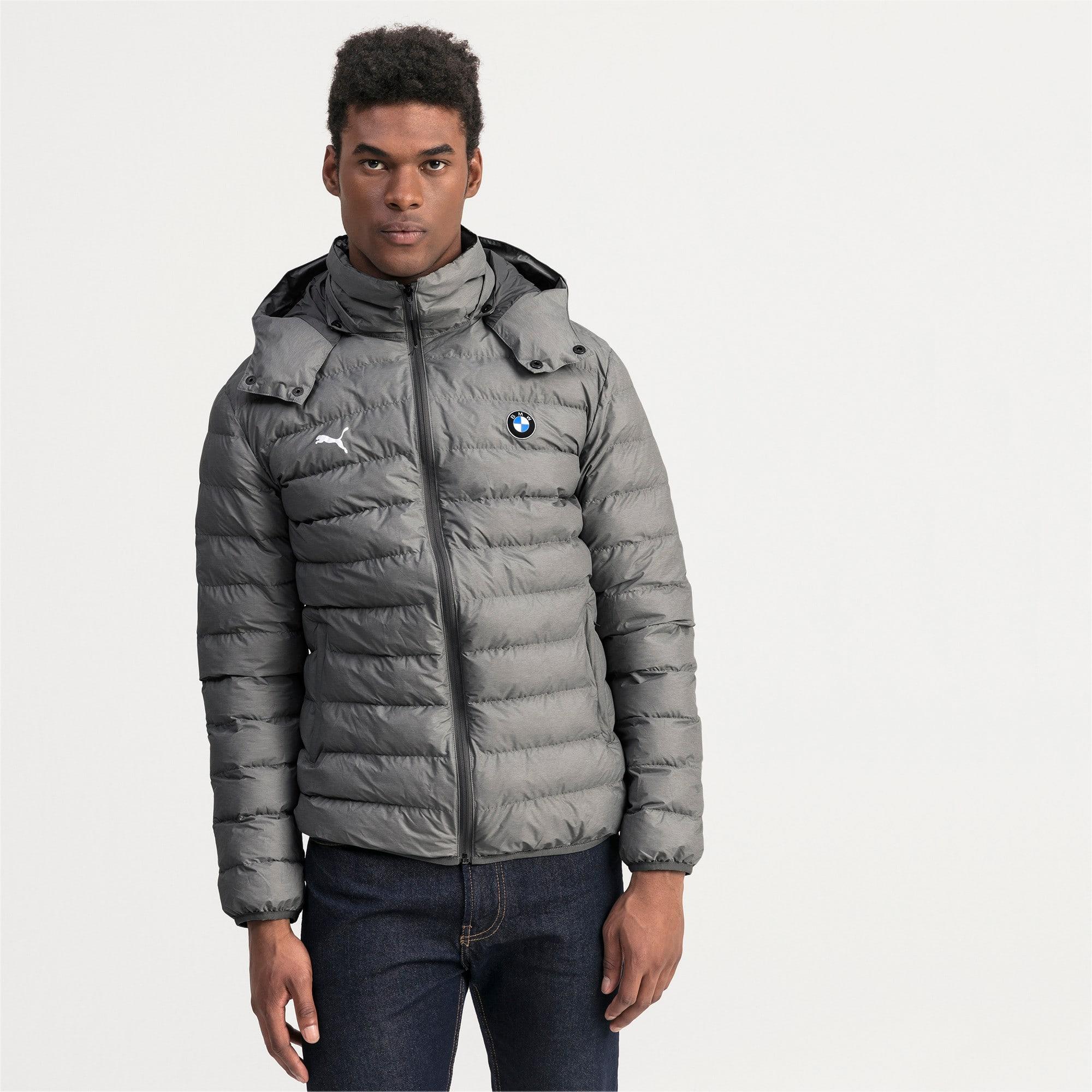 Thumbnail 1 of BMW Motorsport Eco PackLite Men's Jacket, Medium Gray Heather, medium