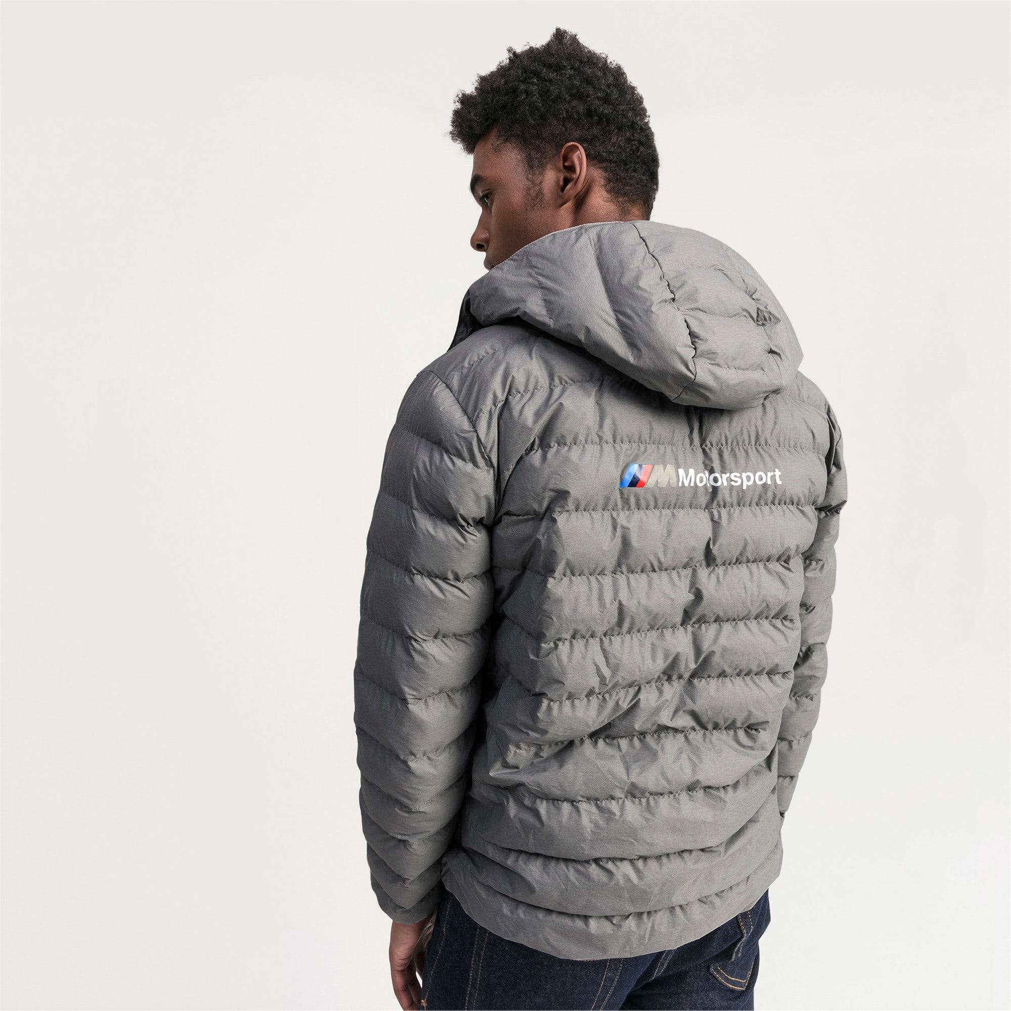Thumbnail 2 of BMW Motorsport Eco PackLite Men's Jacket, Medium Gray Heather, medium