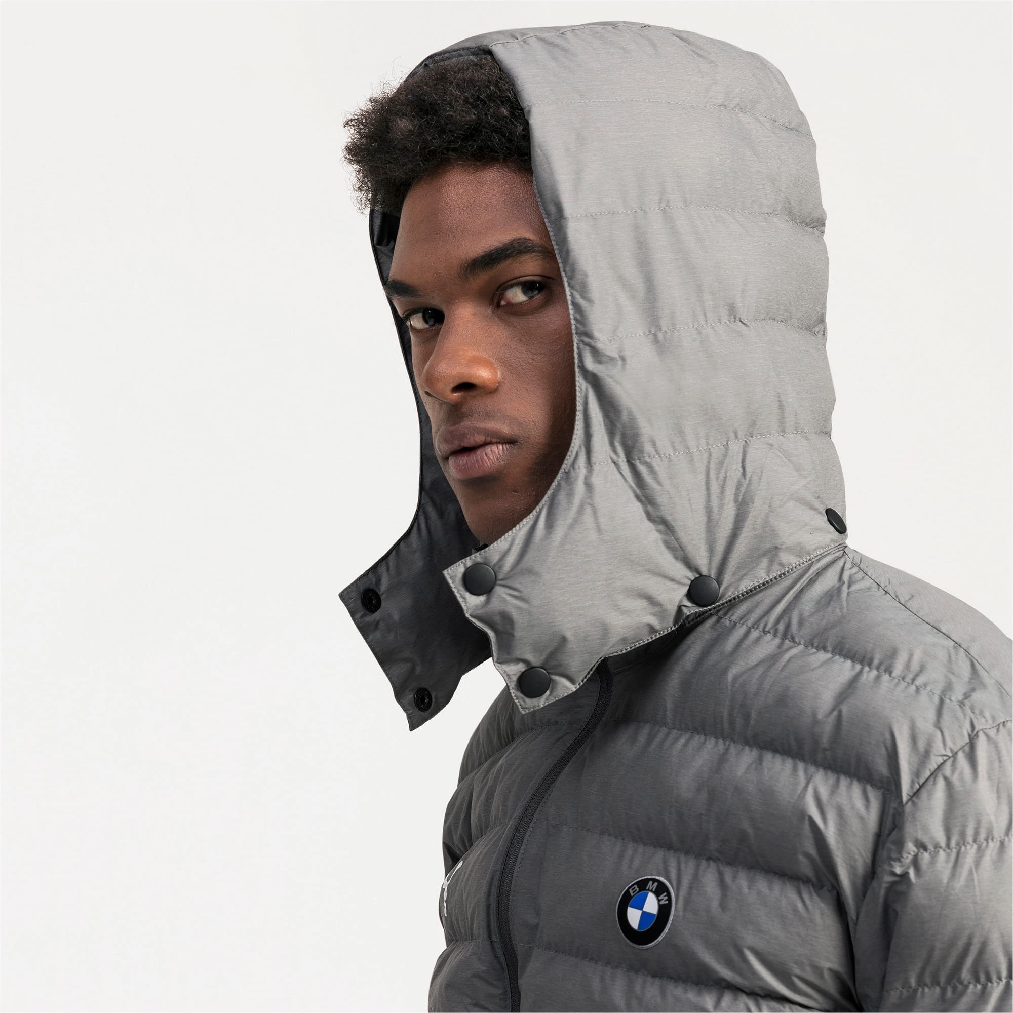 Thumbnail 4 of BMW Motorsport Eco PackLite Men's Jacket, Medium Gray Heather, medium