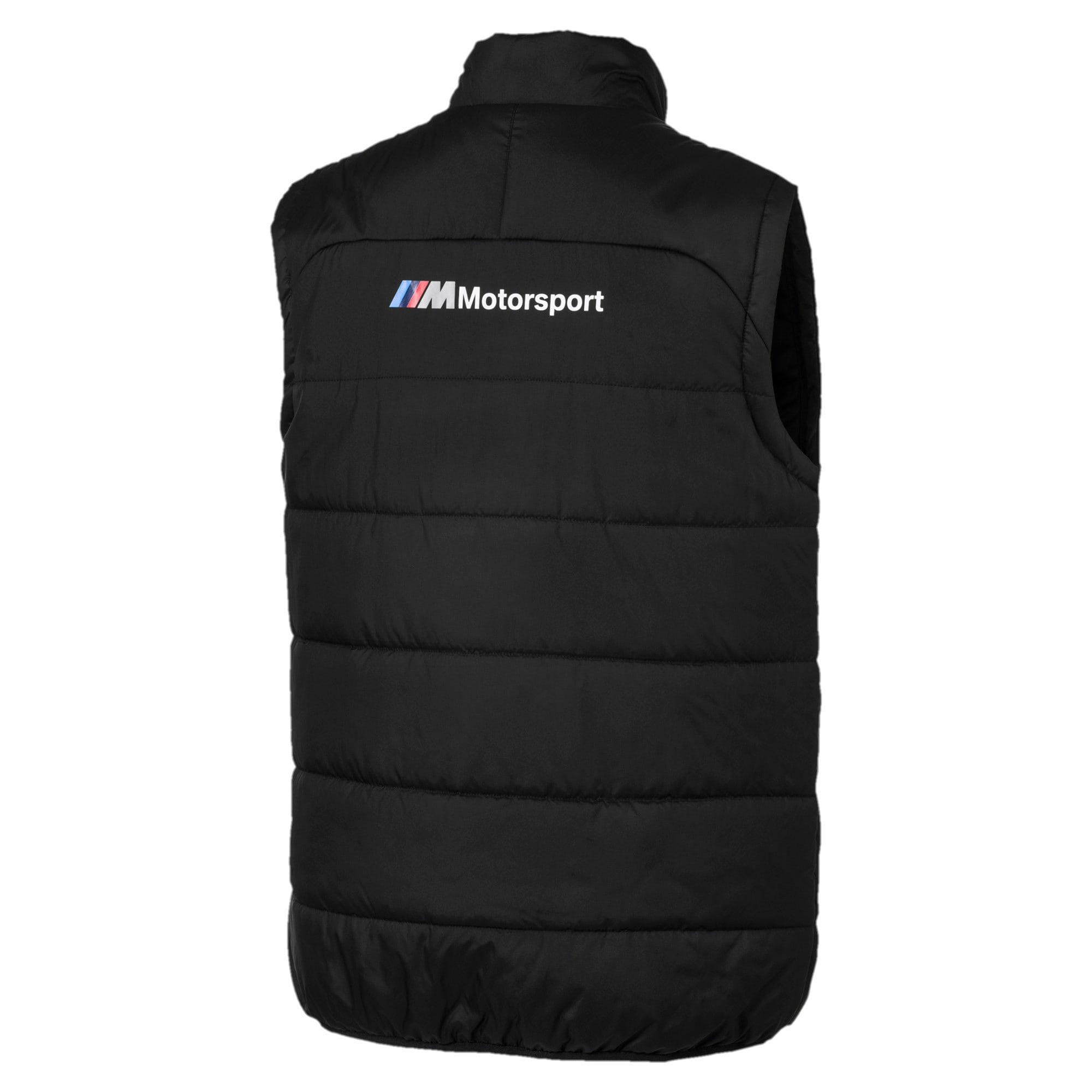 Thumbnail 6 of BMW M Motorsports Men's Padded Vest, Puma Black, medium