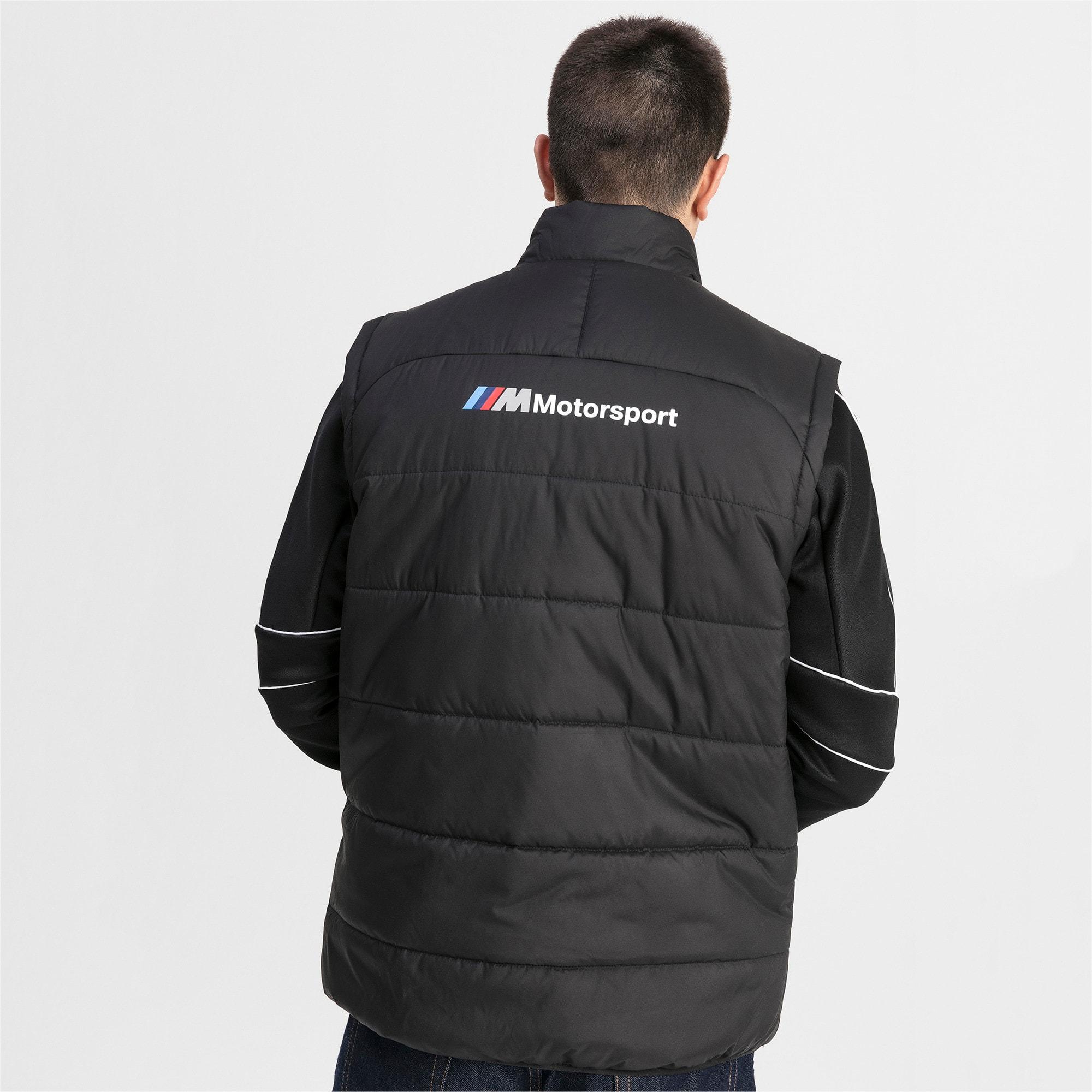 Thumbnail 2 of BMW M Motorsports Men's Padded Vest, Puma Black, medium