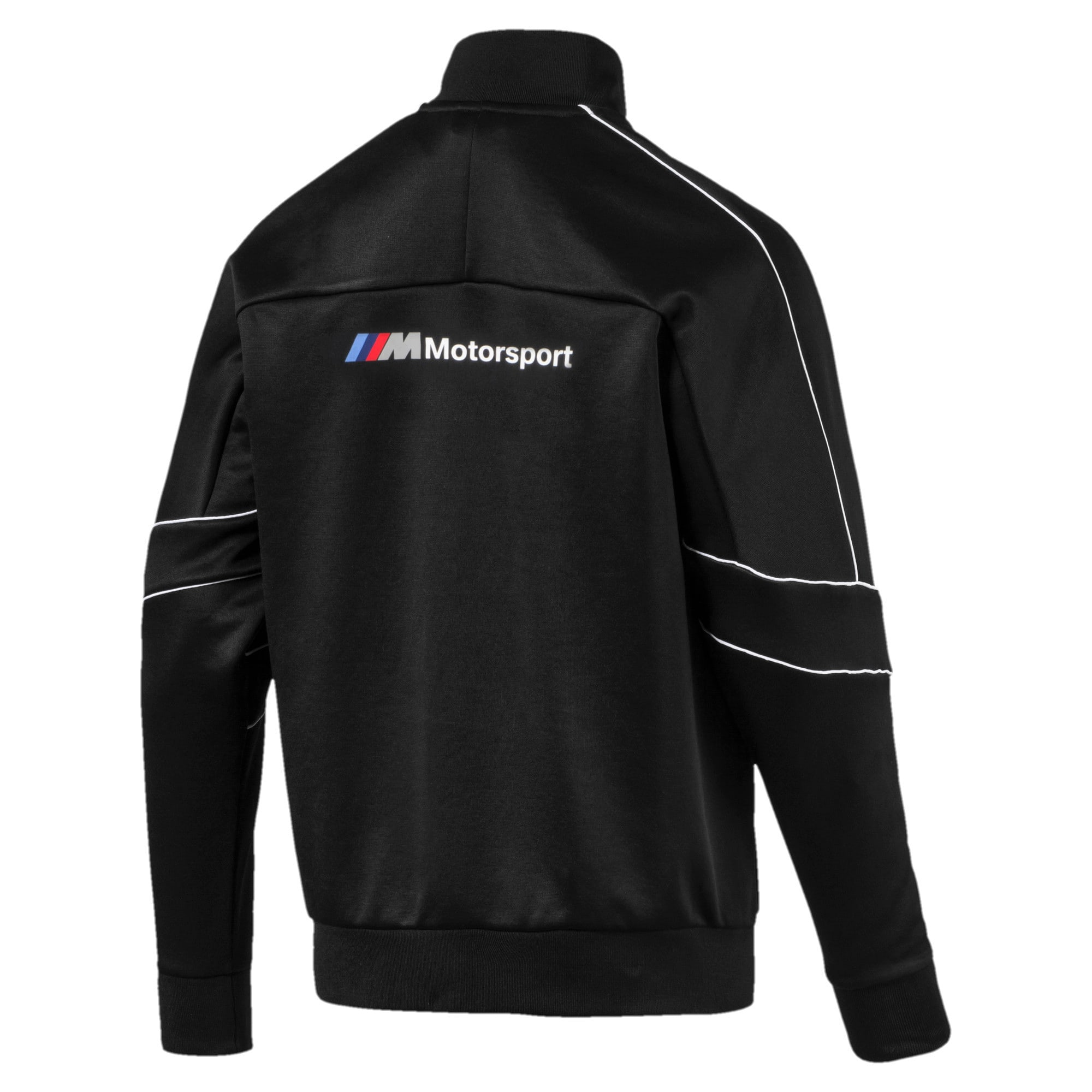 Thumbnail 2 of BMW M Motorsports T7 Track Men's Jacket, Puma Black, medium-IND