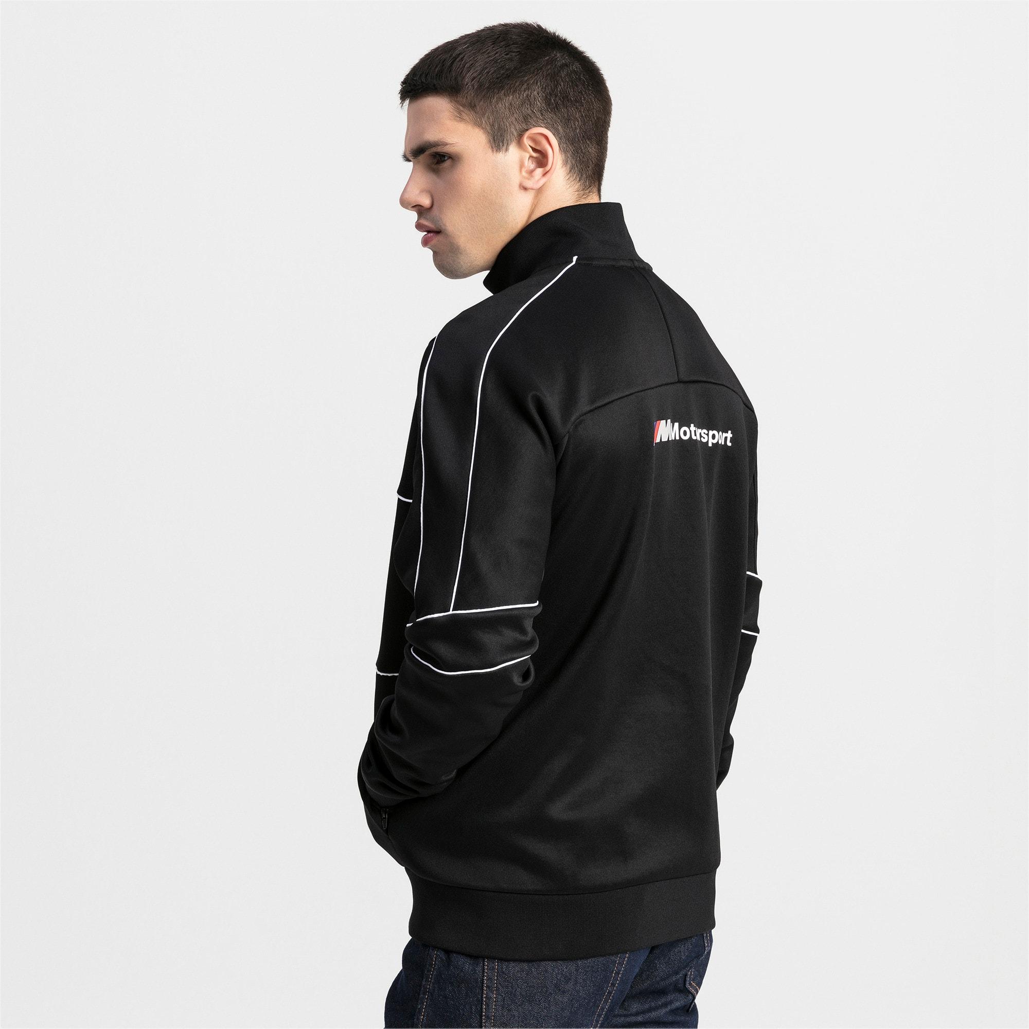 Thumbnail 2 of BMW M Motorsports T7 Track Men's Jacket, Puma Black, medium