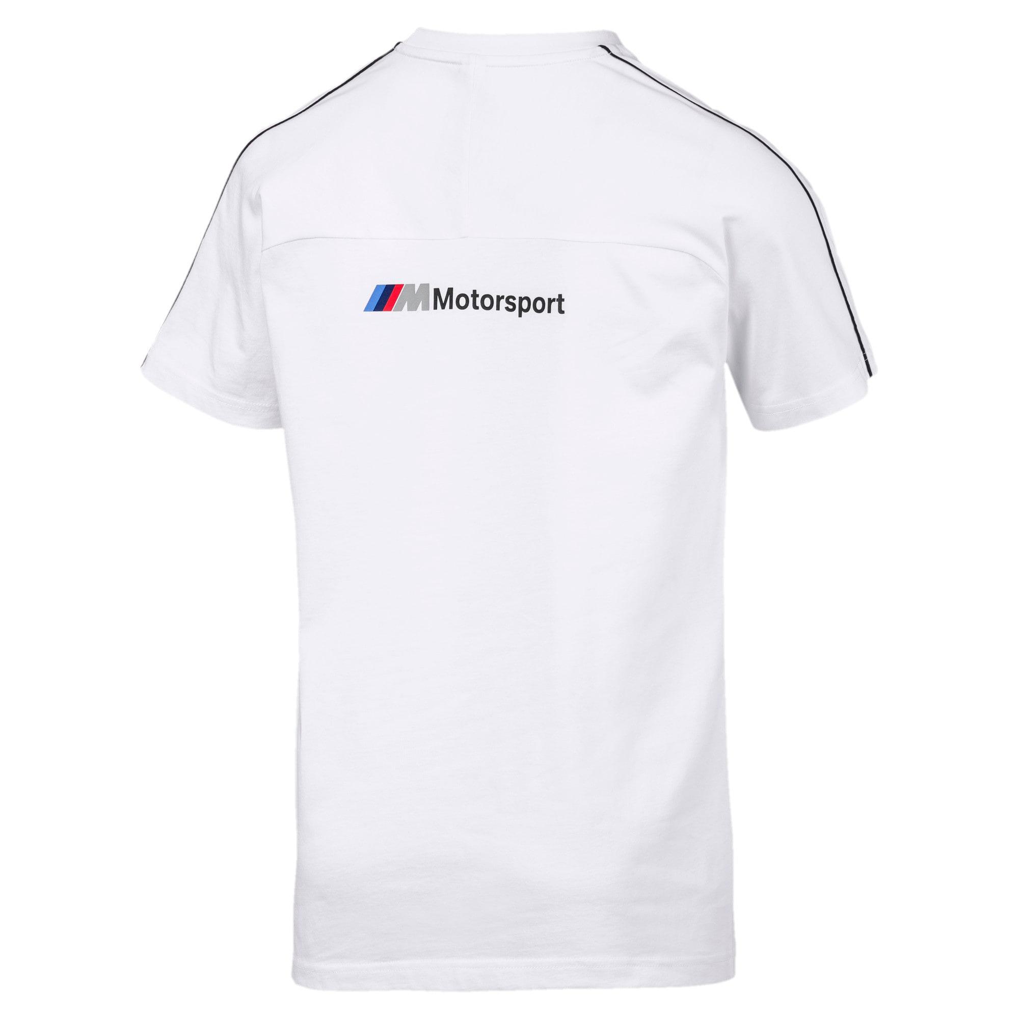Thumbnail 5 of BMW M Motorsport T7 T-shirt voor heren, Puma White, medium