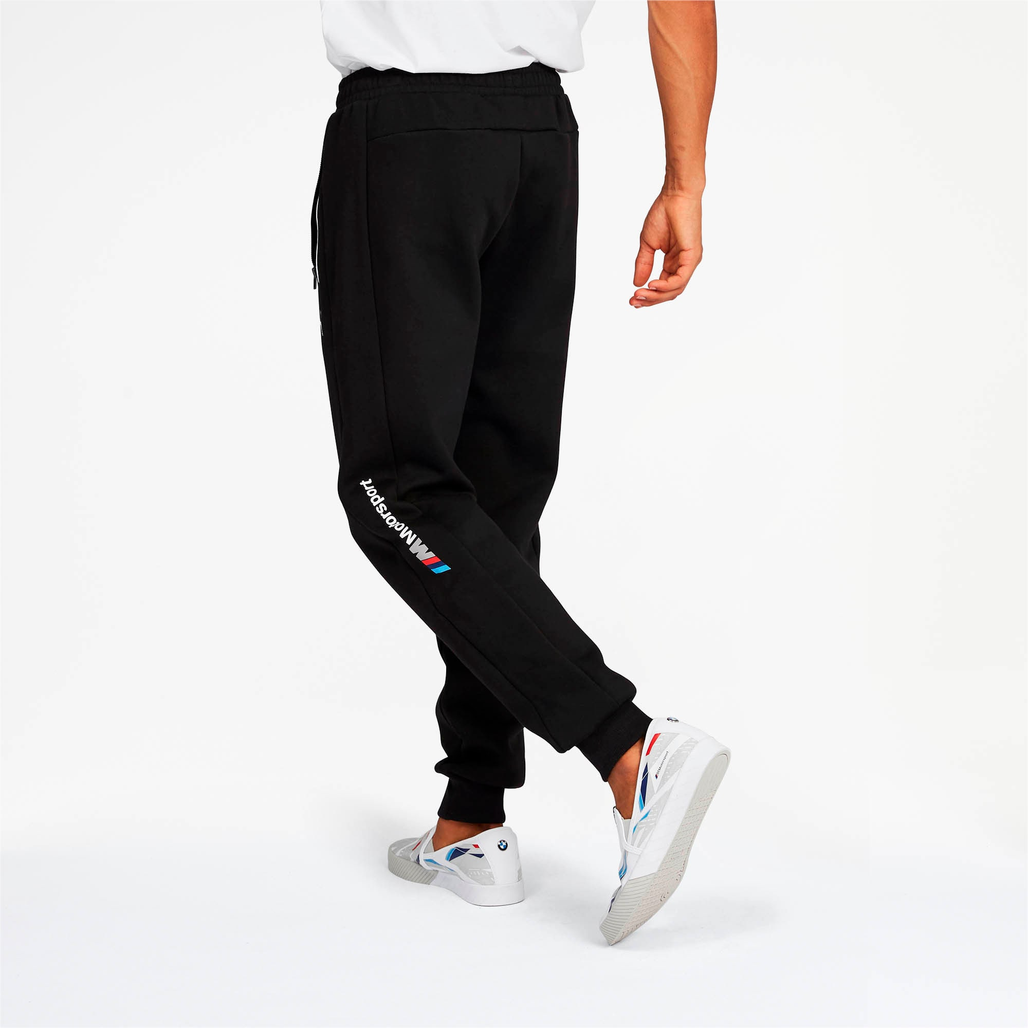 Thumbnail 2 of BMW M Motorsport Men's Sweatpants, Puma Black, medium