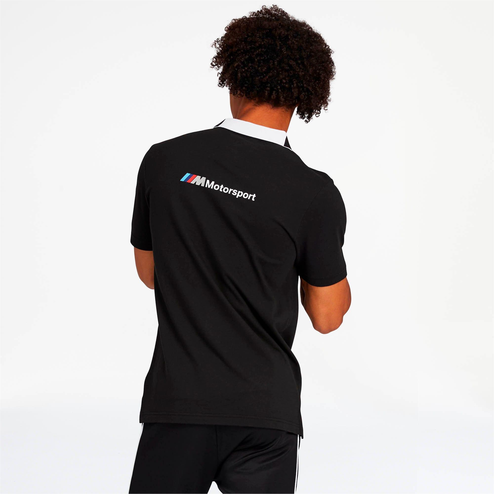 Miniatura 2 de Camiseta tipo polo BMW M Motorsport para hombre, Puma Black, mediano