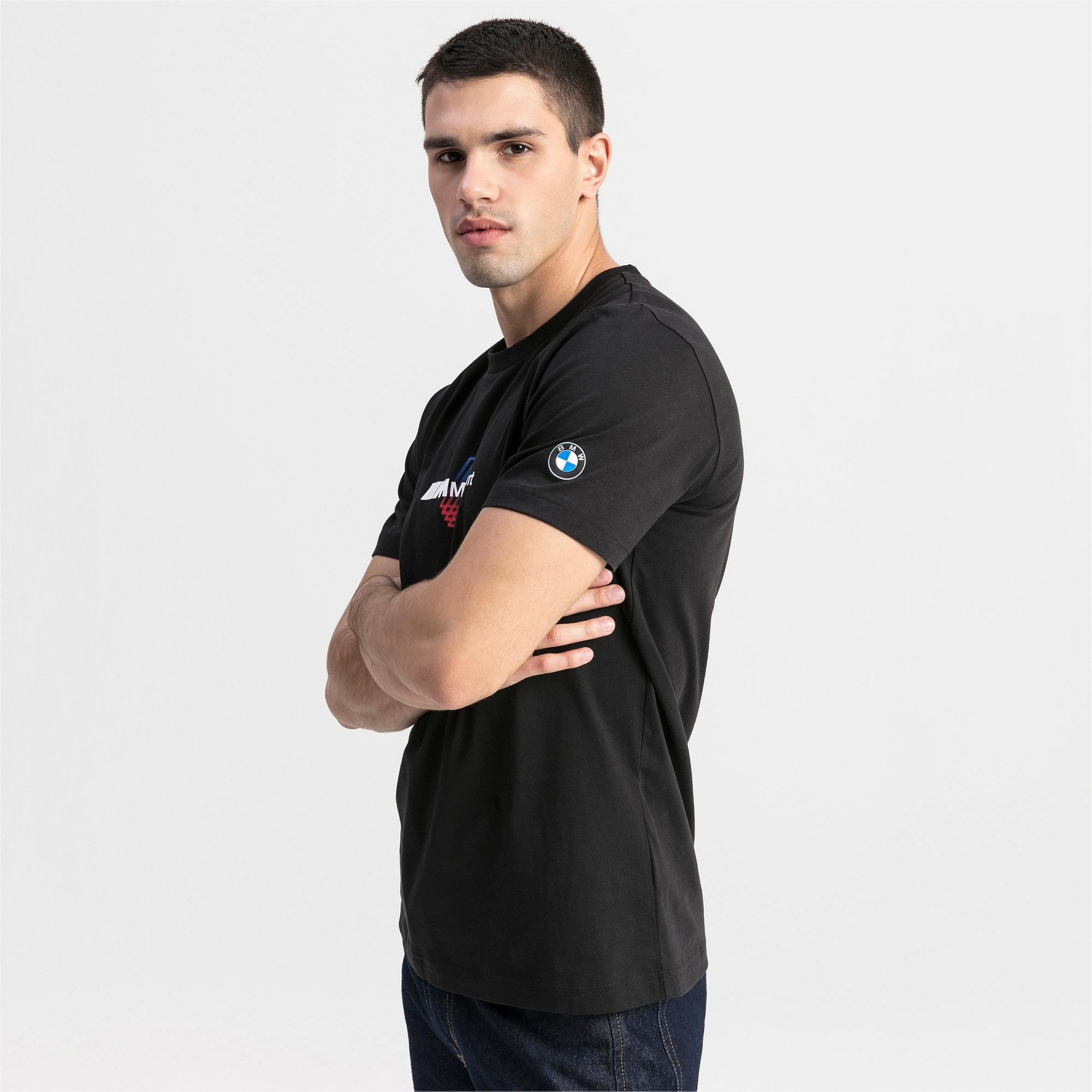 Thumbnail 1 van BMW M Motorsports logo-T-shirt voor mannen, Puma Black, medium
