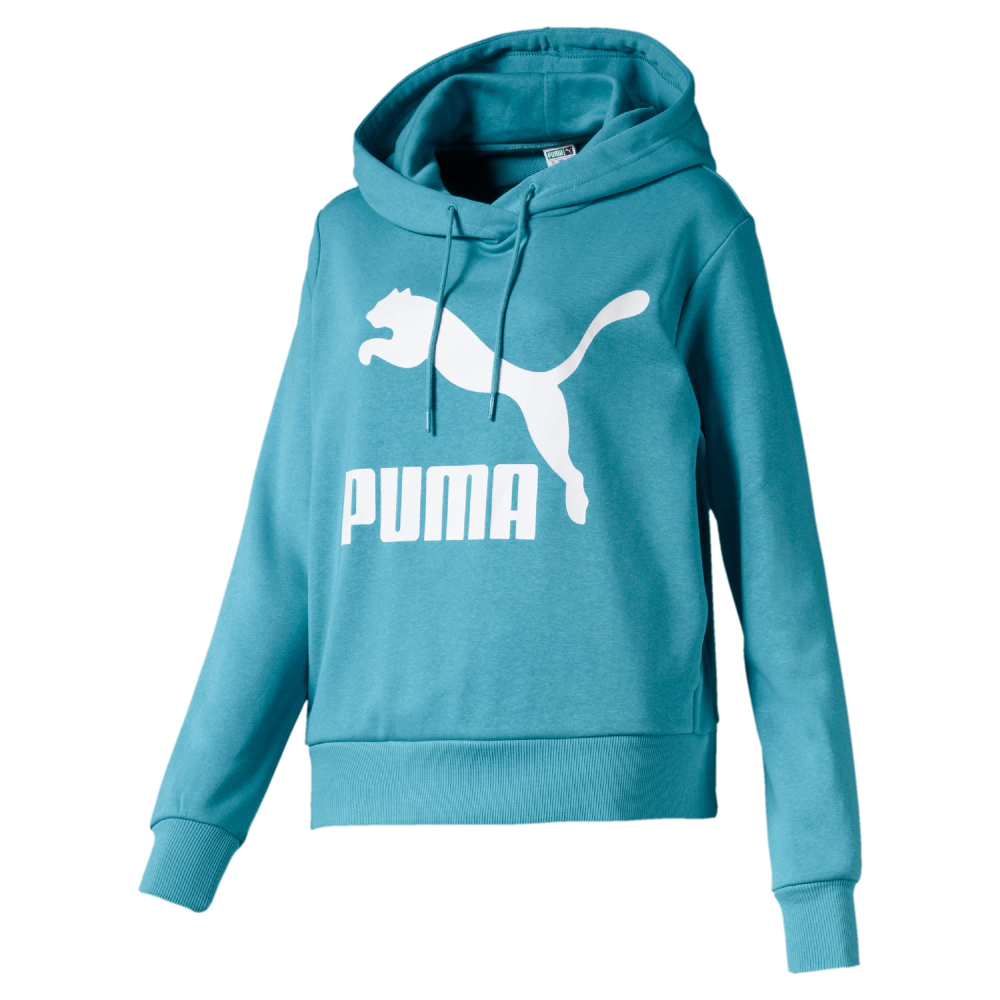 Thumbnail 1 of Classics Women's Logo Hoodie, Milky Blue, medium