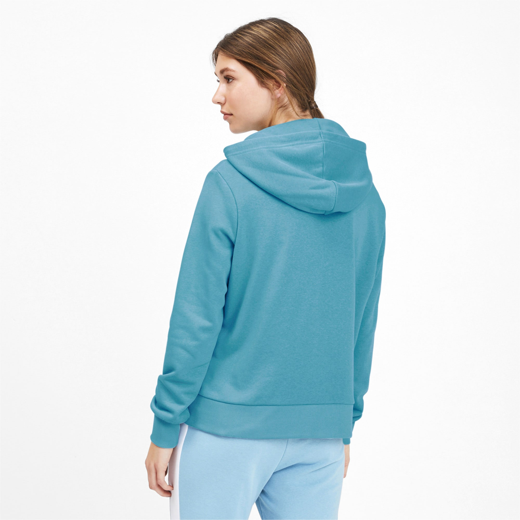 Thumbnail 3 of Classics Women's Logo Hoodie, Milky Blue, medium