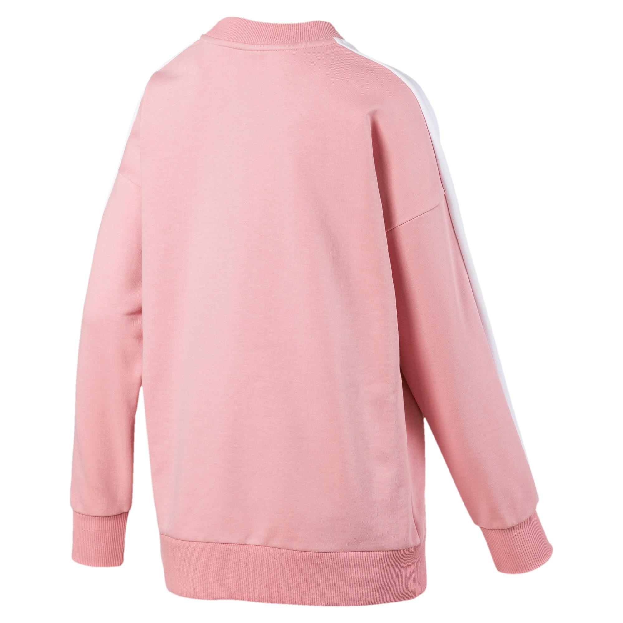 Thumbnail 5 of Classics T7 Women's Crewneck Sweatshirt, Bridal Rose, medium
