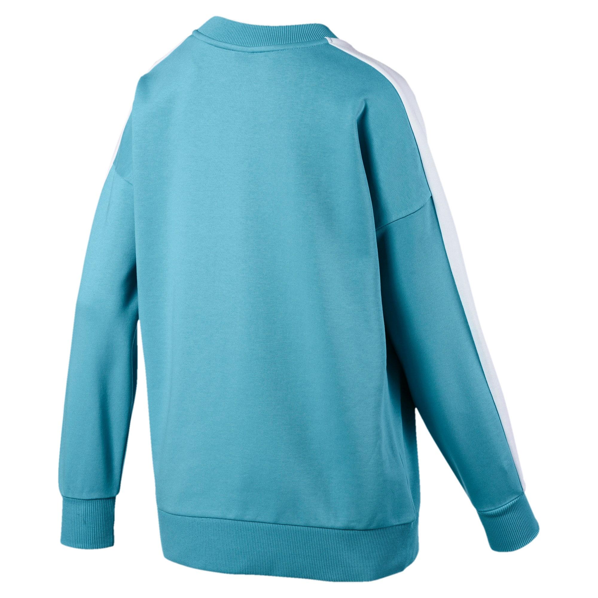 Thumbnail 5 van Classics T7 sweater met ronde hals voor vrouwen, Milky Blue, medium