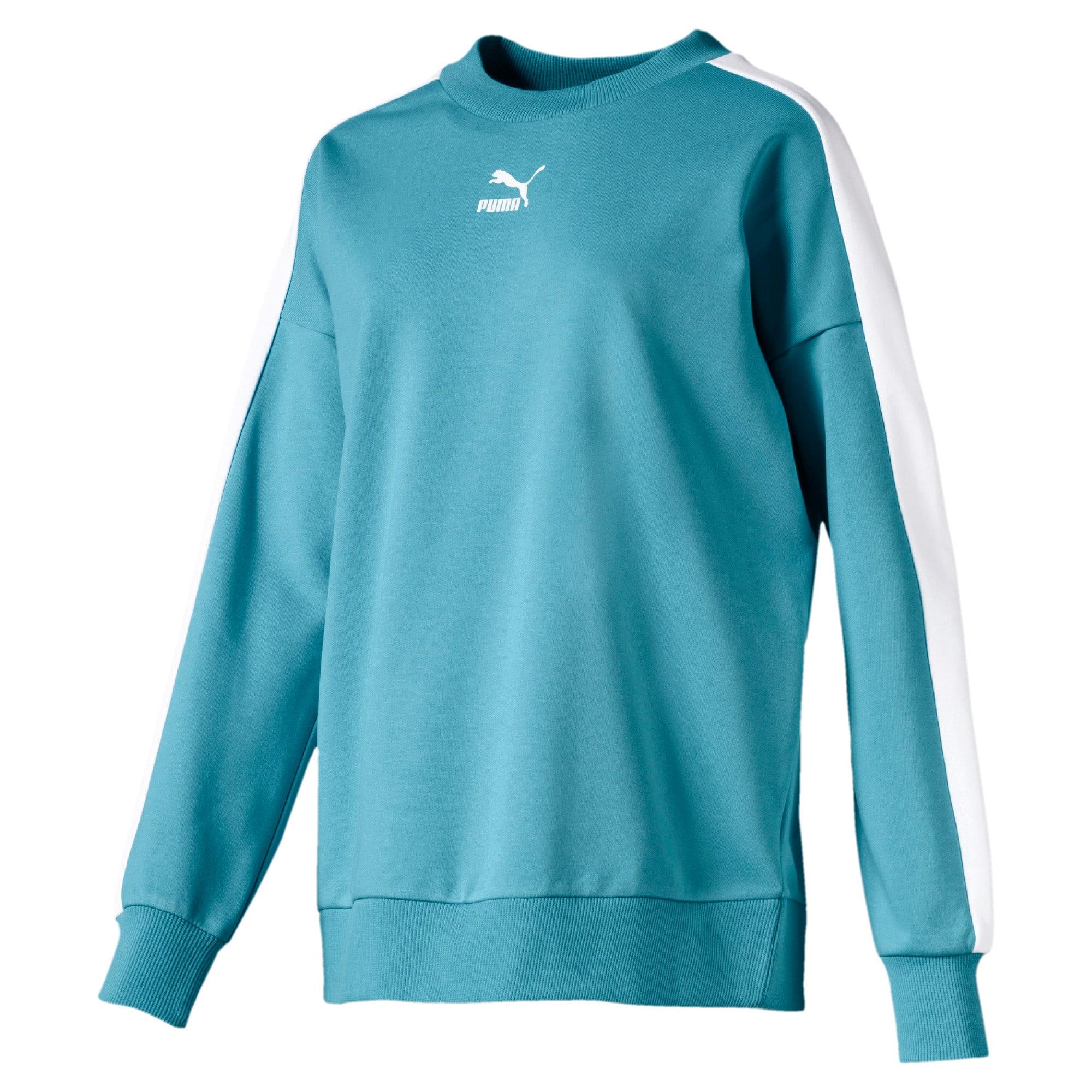 Thumbnail 4 van Classics T7 sweater met ronde hals voor vrouwen, Milky Blue, medium