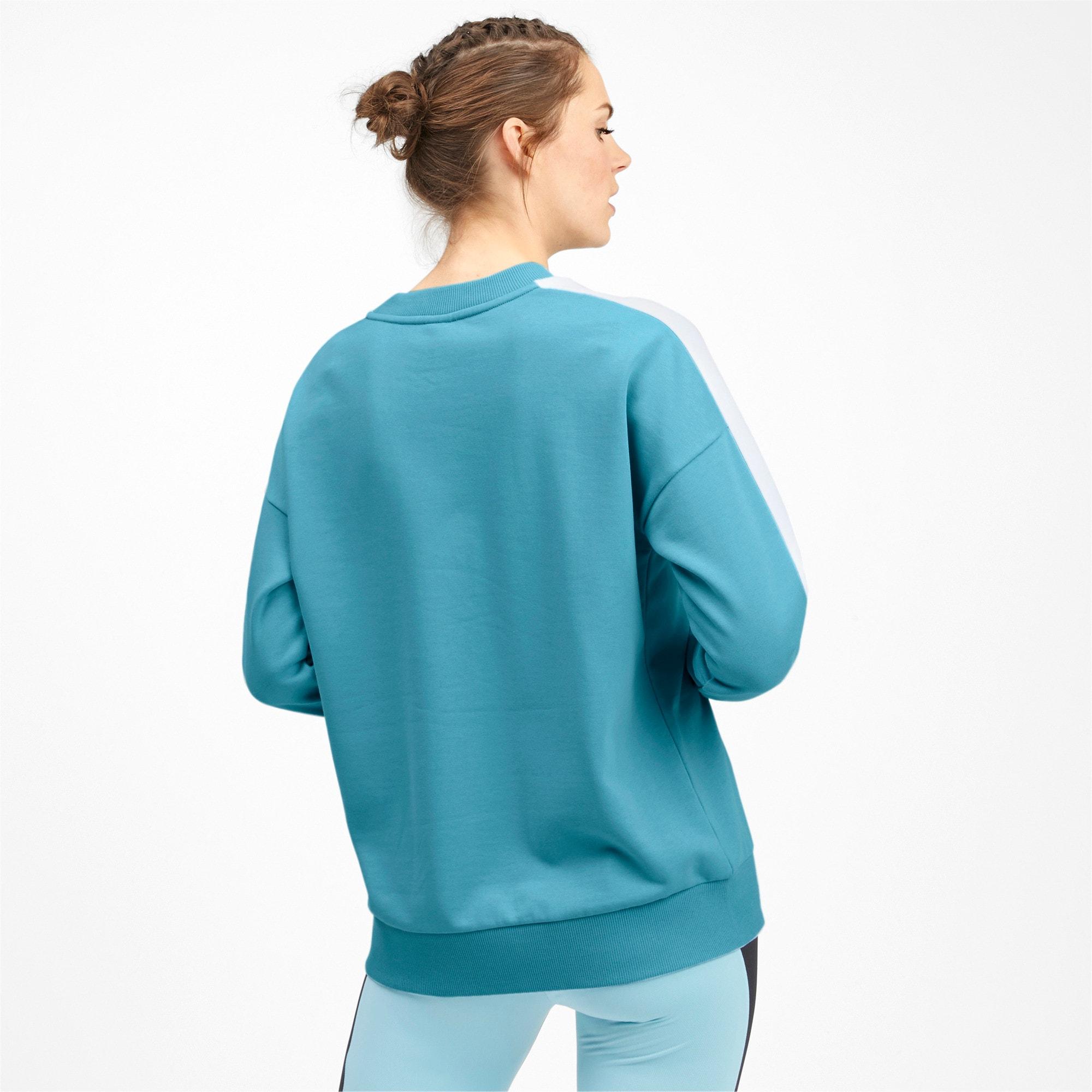 Thumbnail 2 van Classics T7 sweater met ronde hals voor vrouwen, Milky Blue, medium