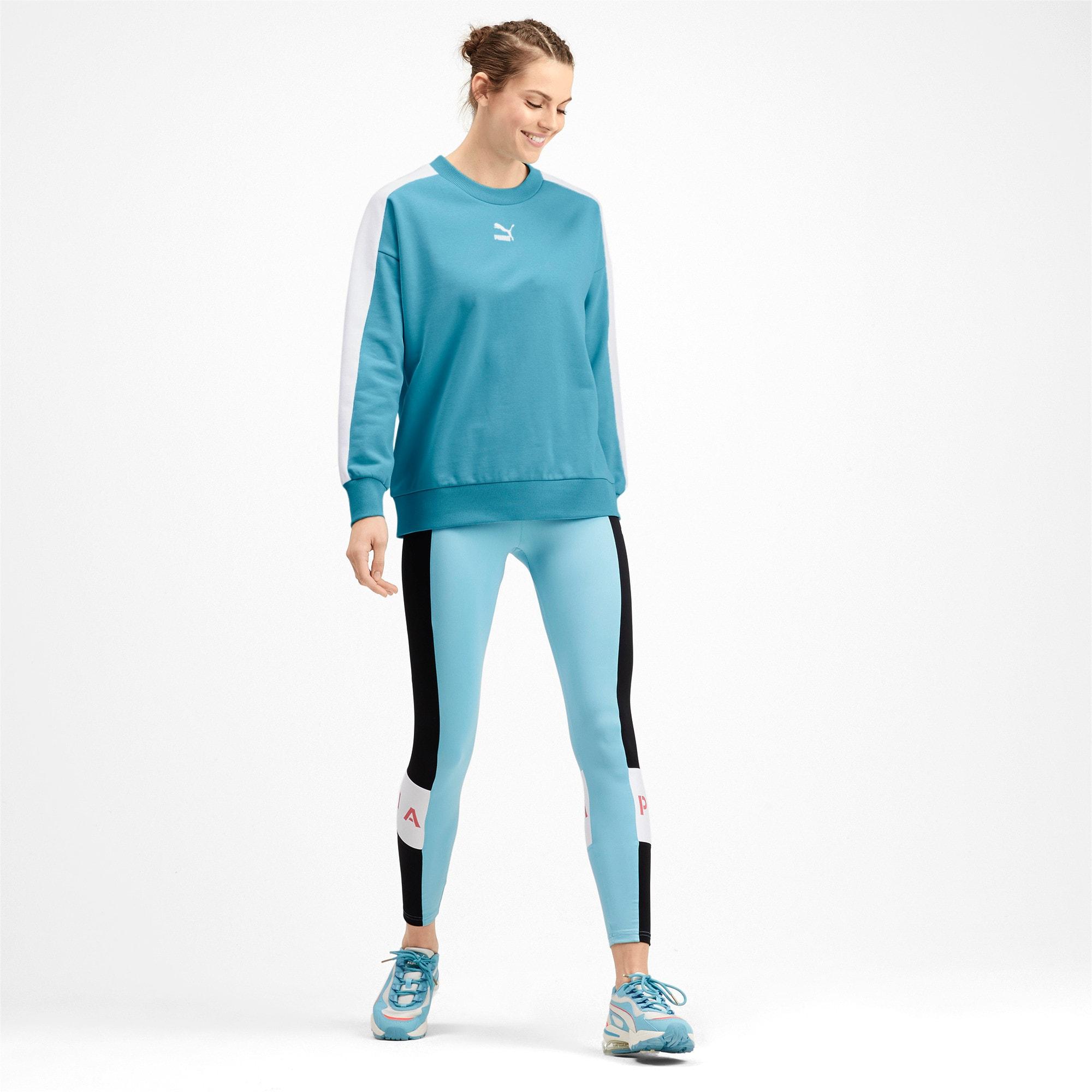 Thumbnail 3 van Classics T7 sweater met ronde hals voor vrouwen, Milky Blue, medium
