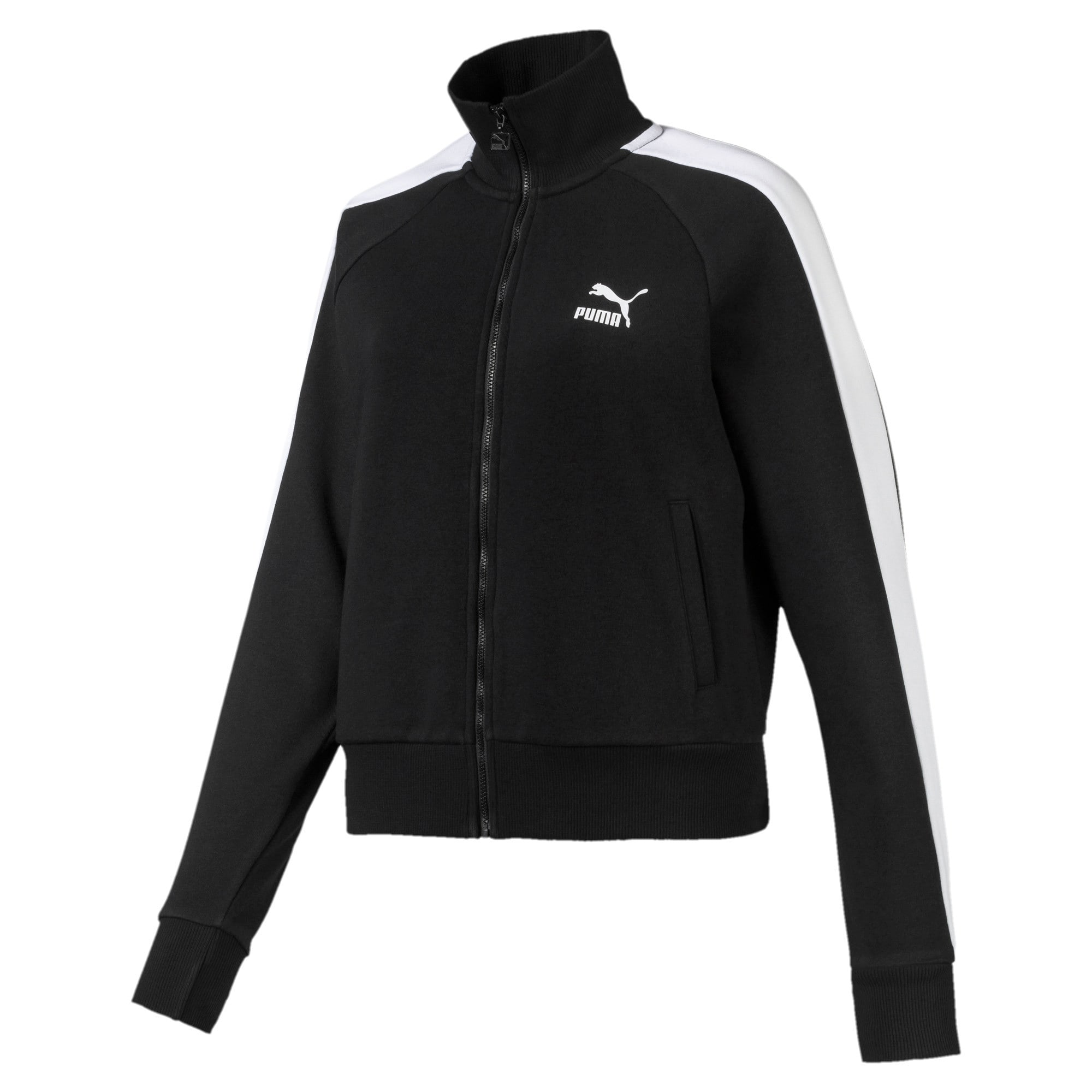 Thumbnail 1 of Classics T7 Women's Track Jacket, Puma Black, medium