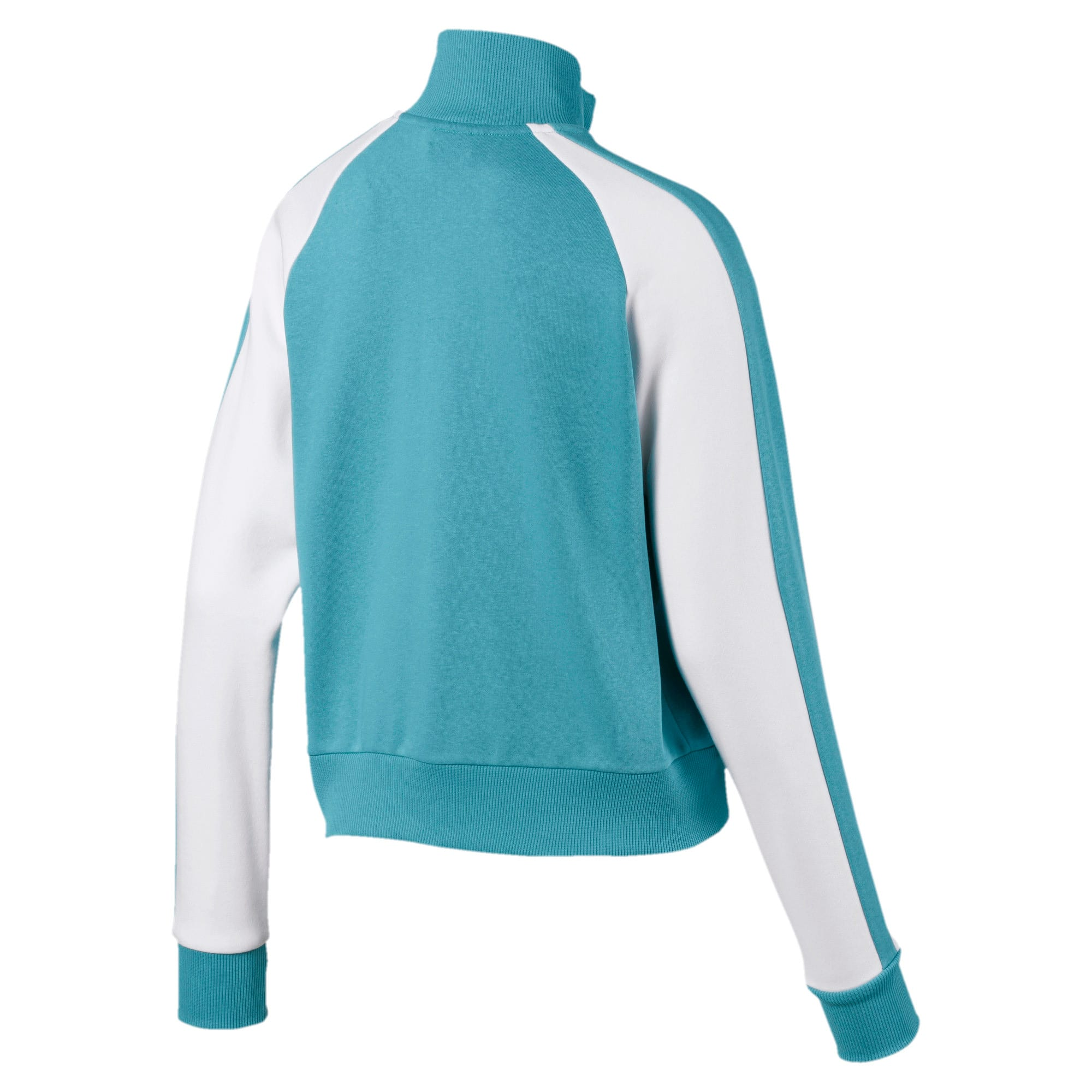 Classics T7 Women's Track Jacket, Milky Blue, large