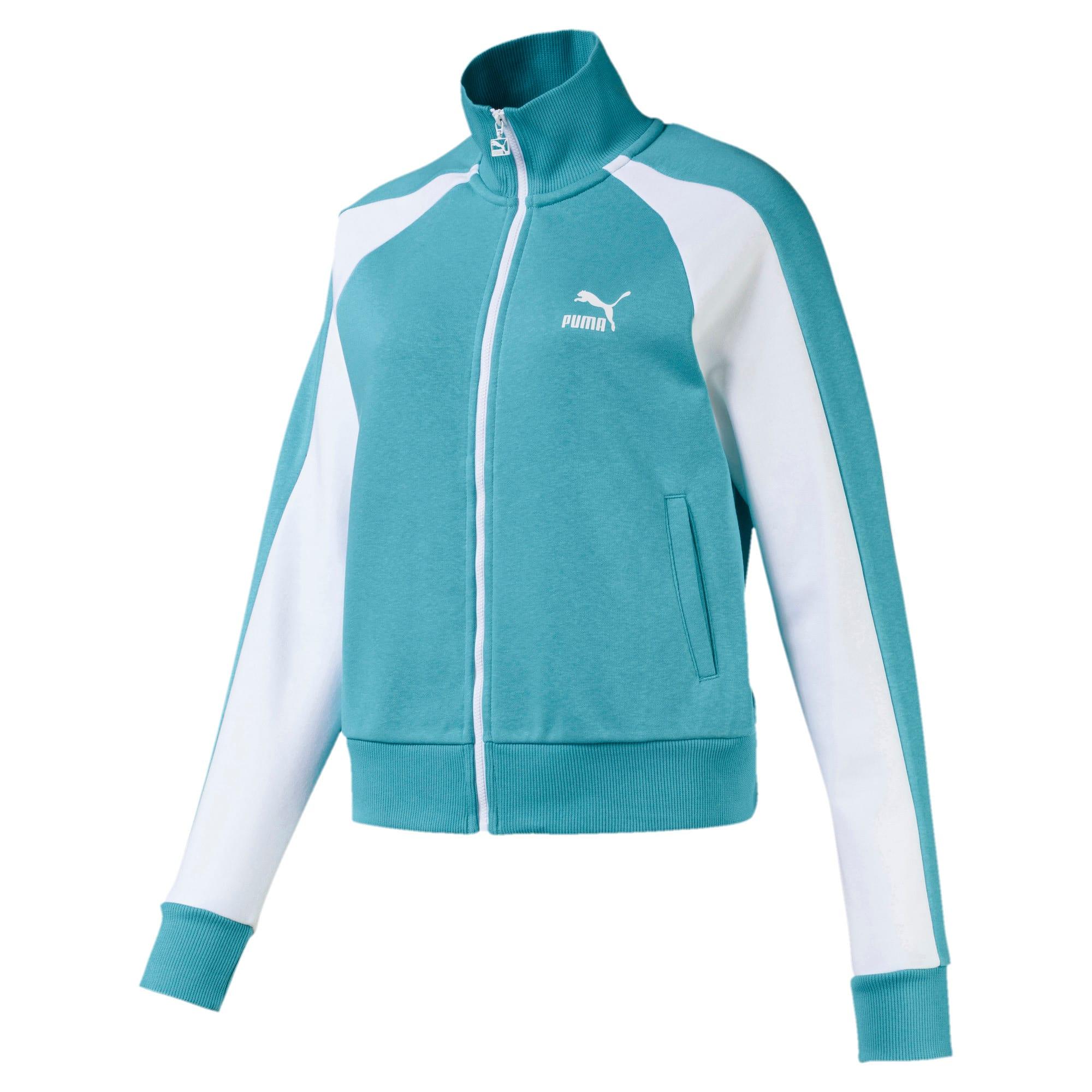 Thumbnail 1 of Classics T7 Women's Track Jacket, Milky Blue, medium
