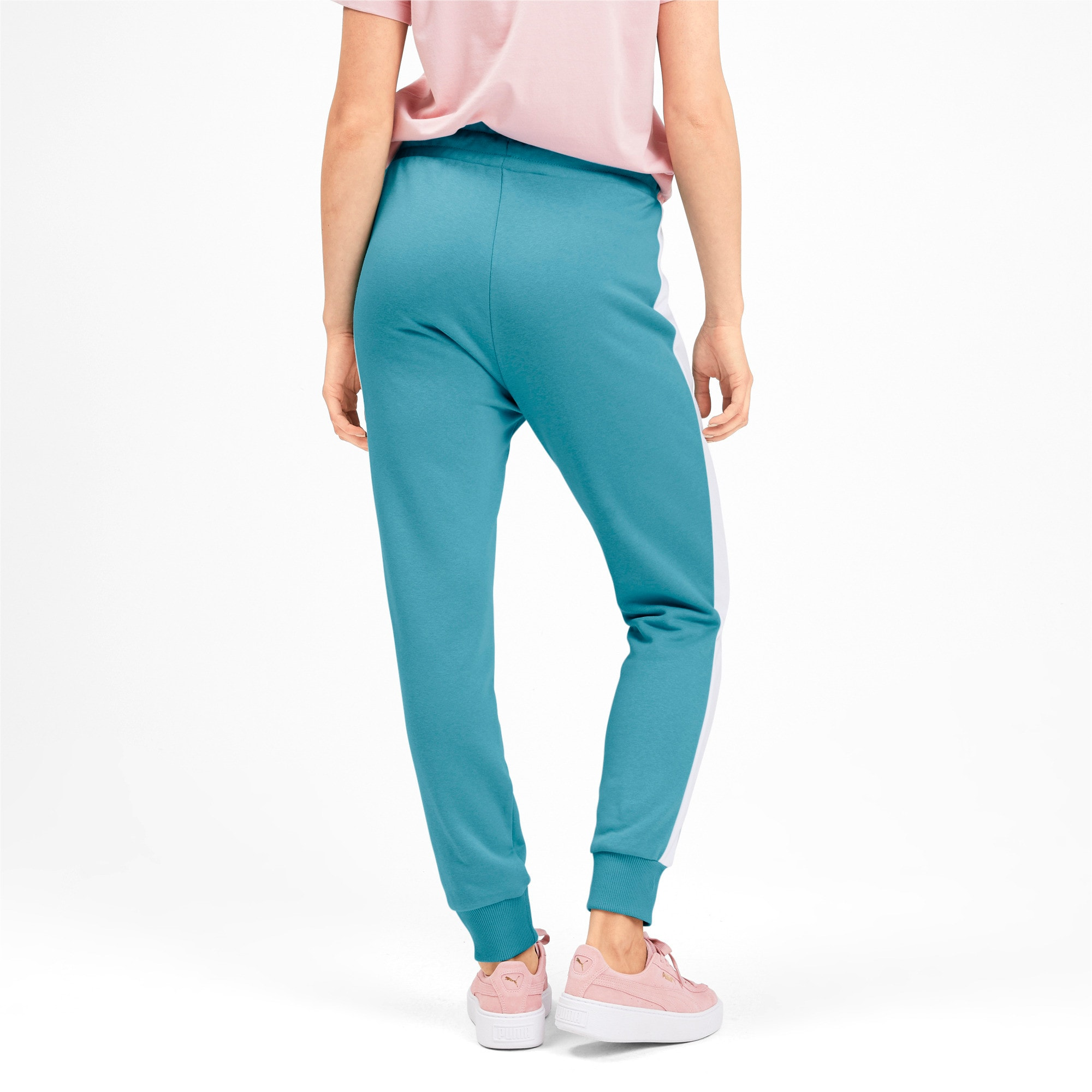 Thumbnail 3 of Gebreide Classics T7 trainingsbroek voor dames, Milky Blue, medium