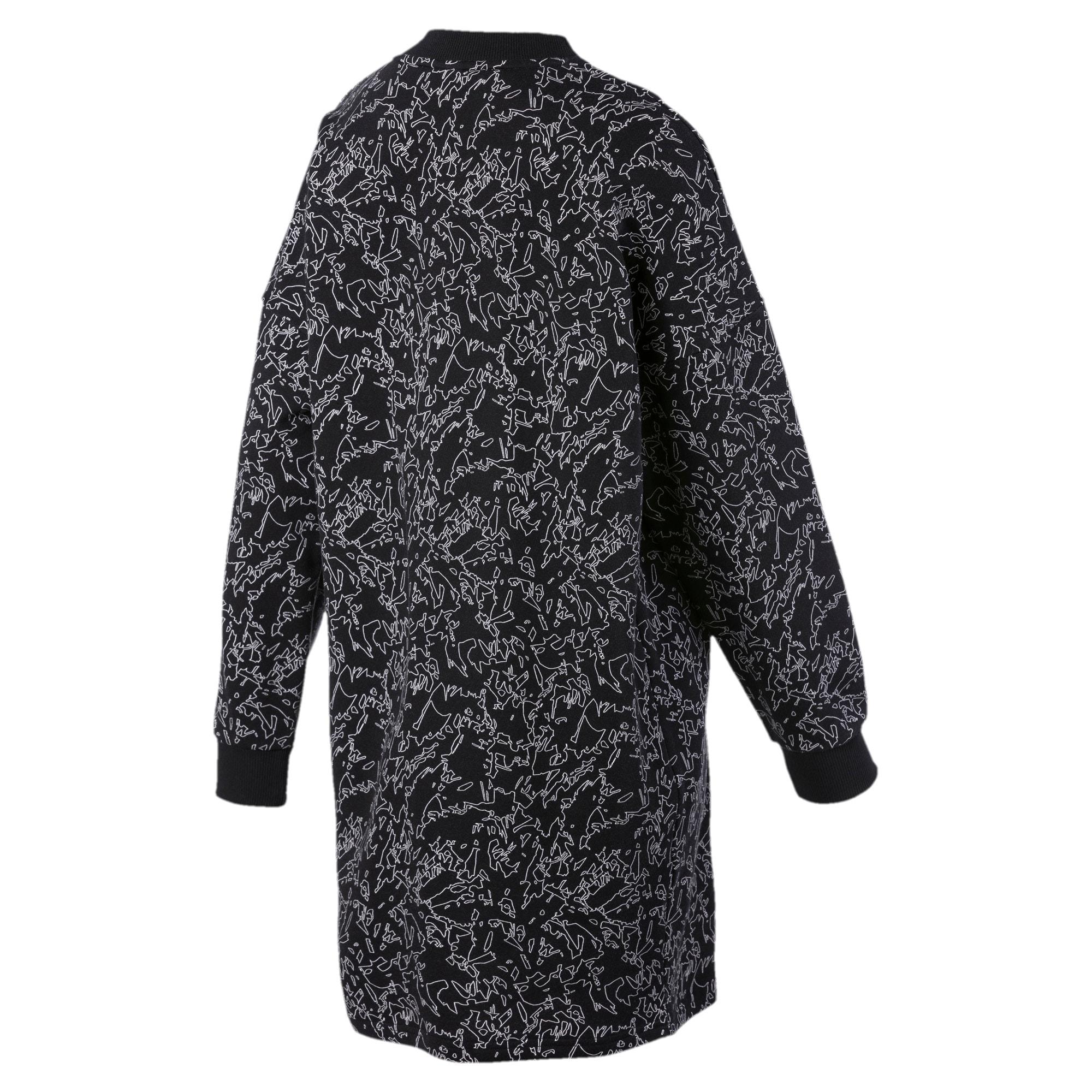 Thumbnail 5 of Classics All-Over Printed Women's Dress, Puma Black, medium