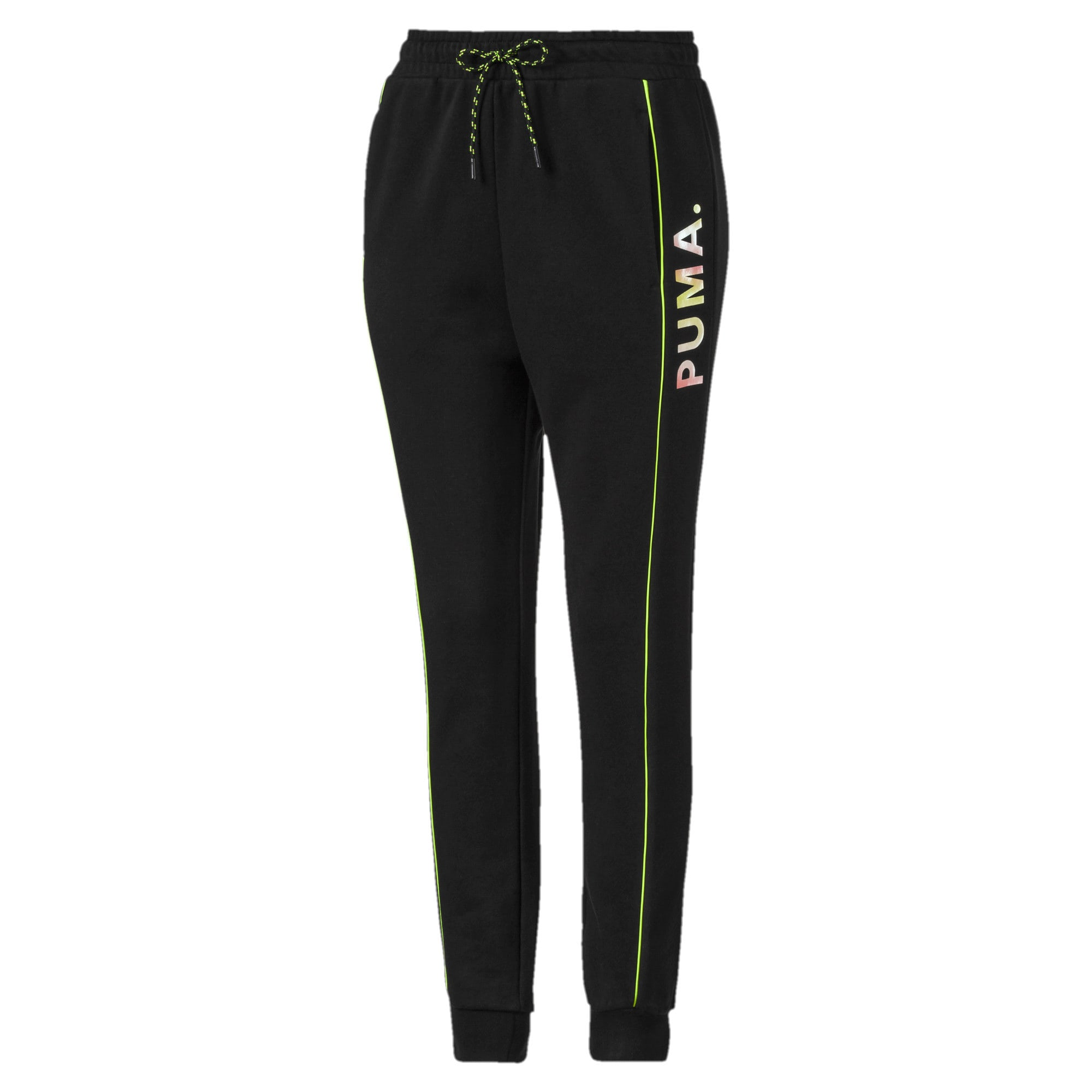 Thumbnail 4 of Chase Damen Sweatpants, Puma Black, medium