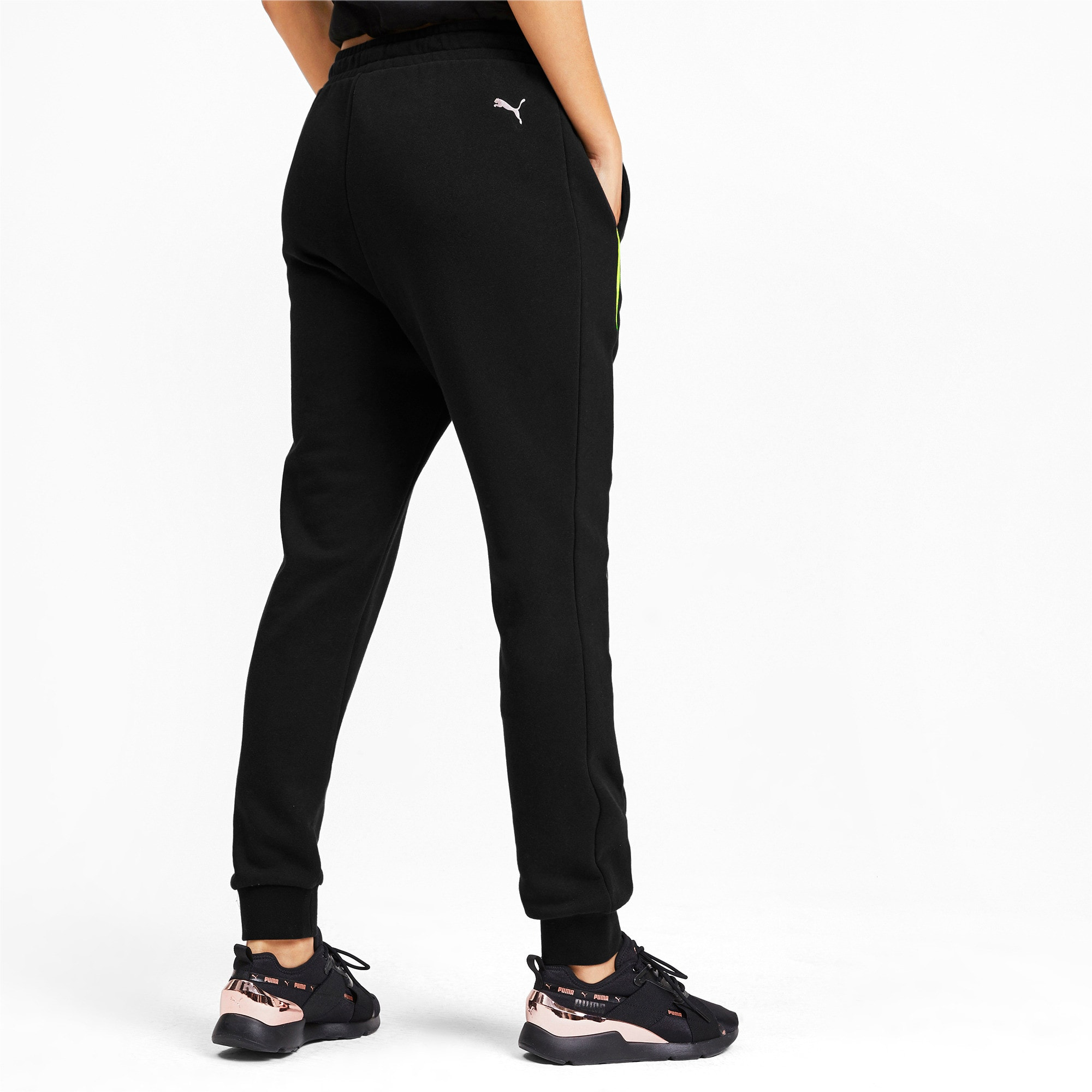 Thumbnail 2 of Chase Damen Sweatpants, Puma Black, medium