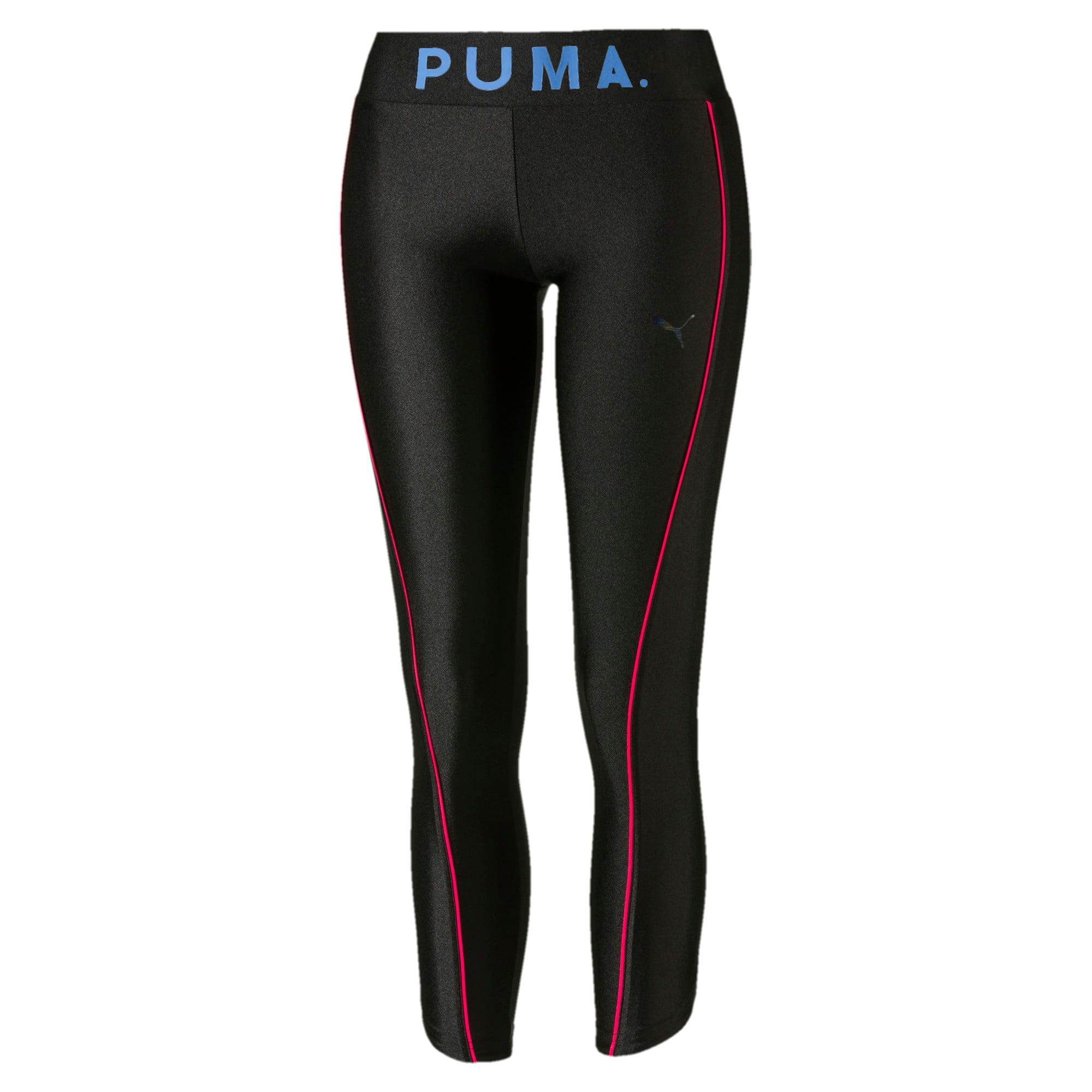 Thumbnail 1 of Chase Graphic 7/8 Women's Leggings, Puma Black, medium