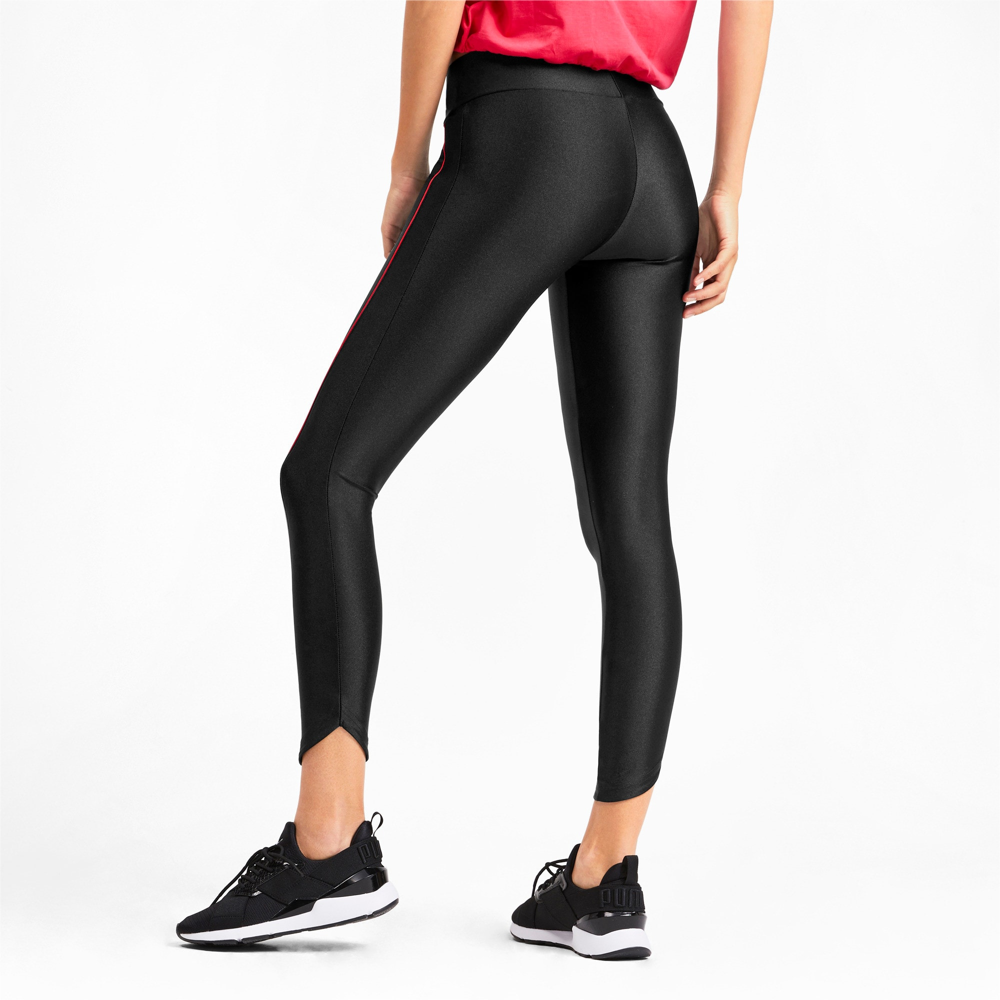 Thumbnail 3 of Chase Graphic 7/8 Women's Leggings, Puma Black, medium
