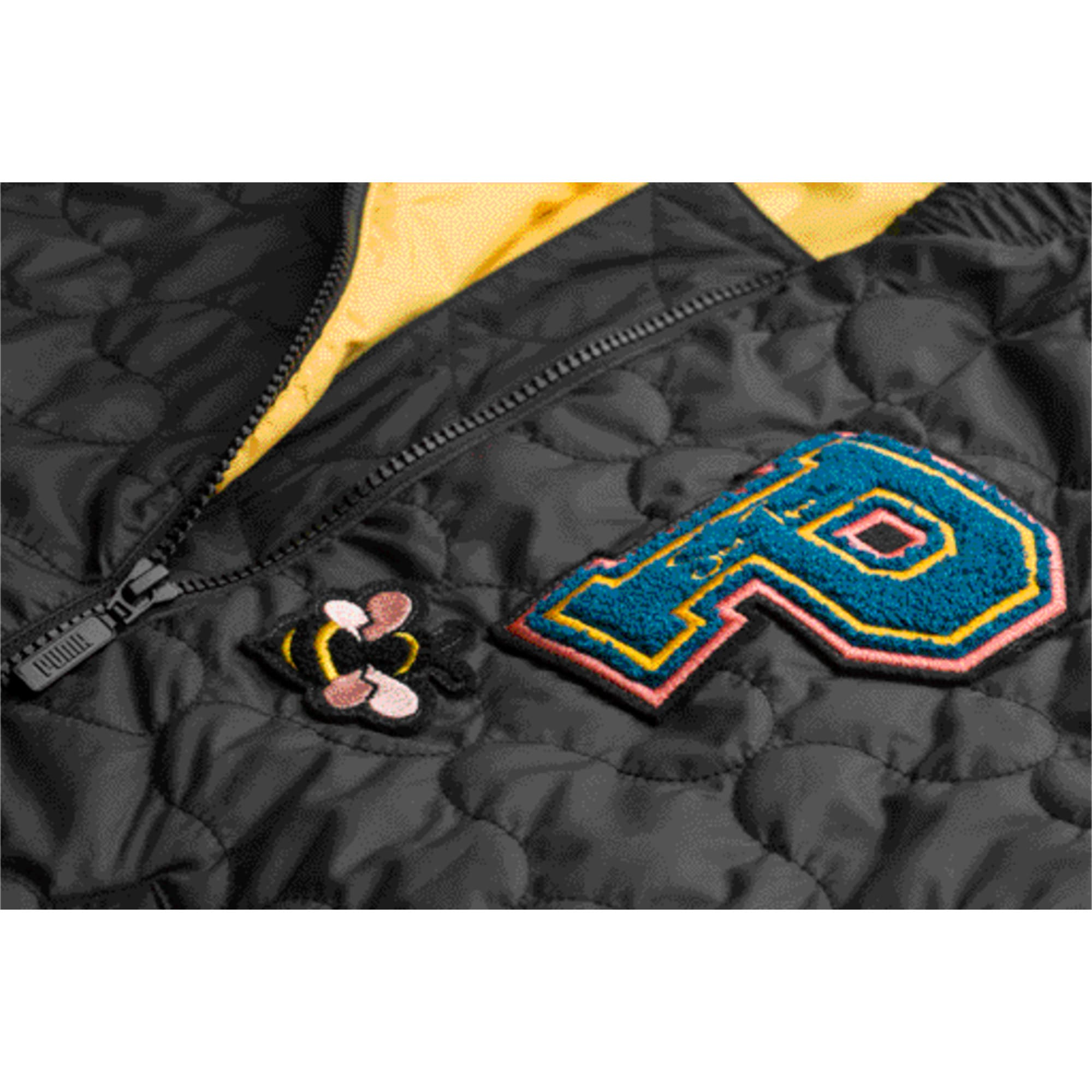 Thumbnail 4 of PUMA x SUE TSAI Women's Varsity Jacket, Puma Black, medium