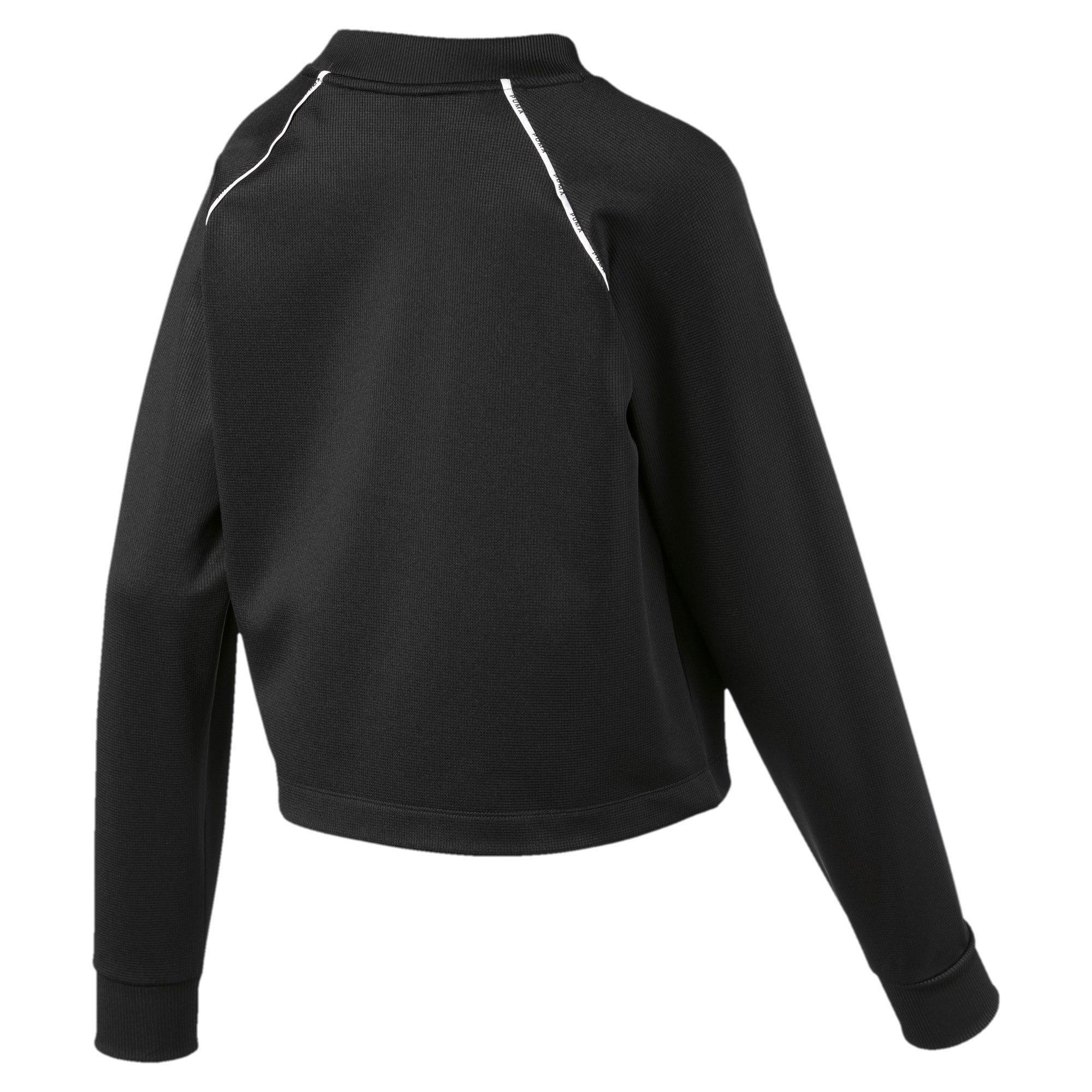 Thumbnail 5 of PUMA XTG Women's Crewneck Sweatshirt, Puma Black, medium