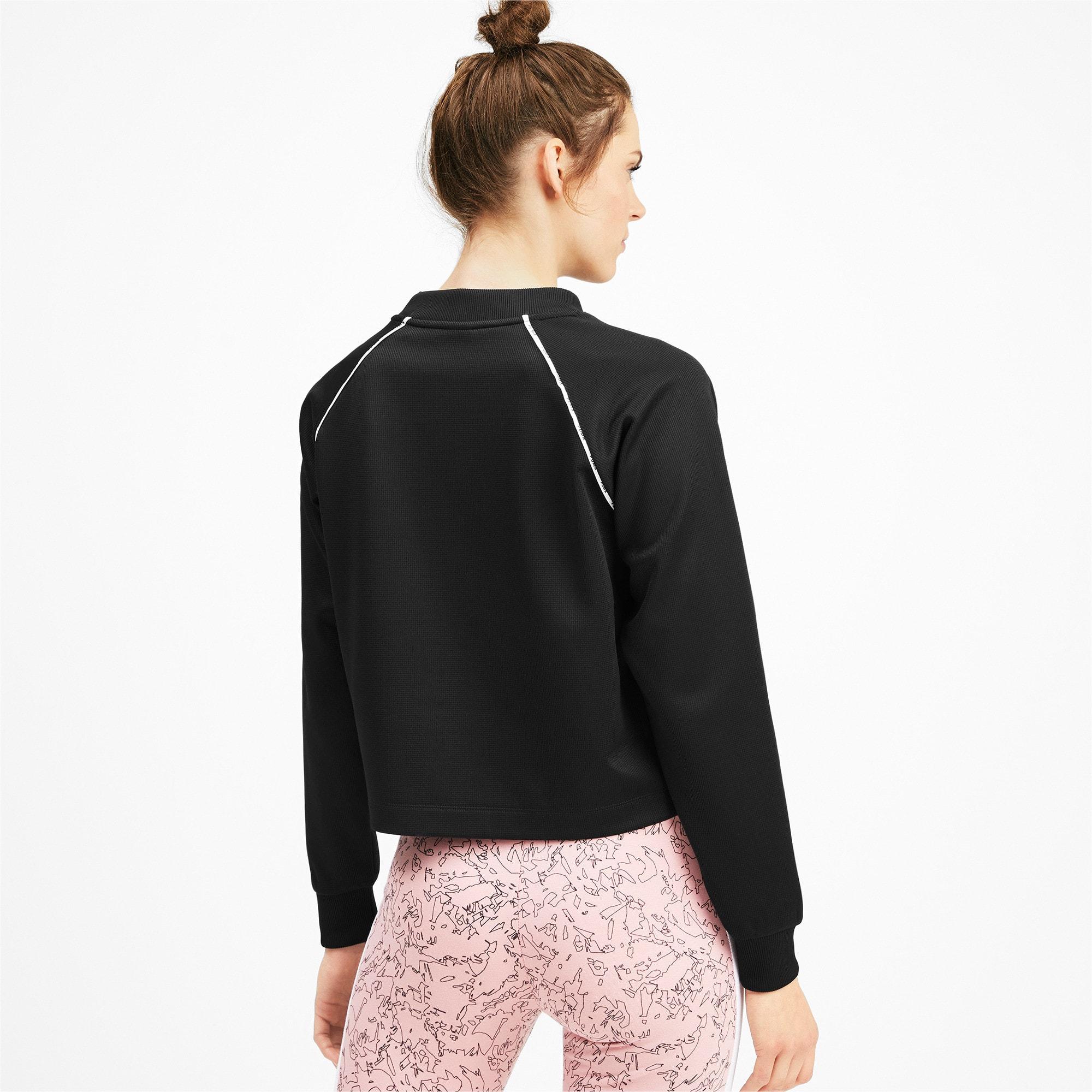 Thumbnail 2 of PUMA XTG Women's Crewneck Sweatshirt, Puma Black, medium