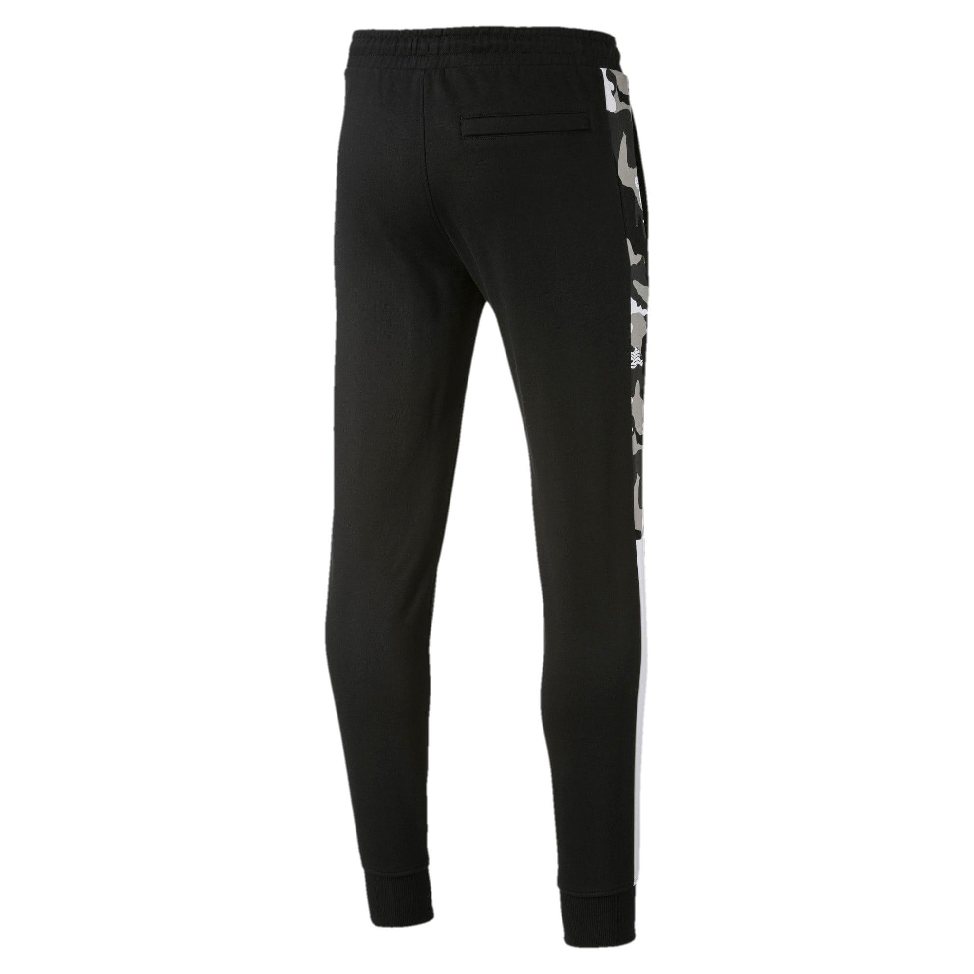Thumbnail 5 of T7 Men's AOP Track Pants, Puma Black, medium