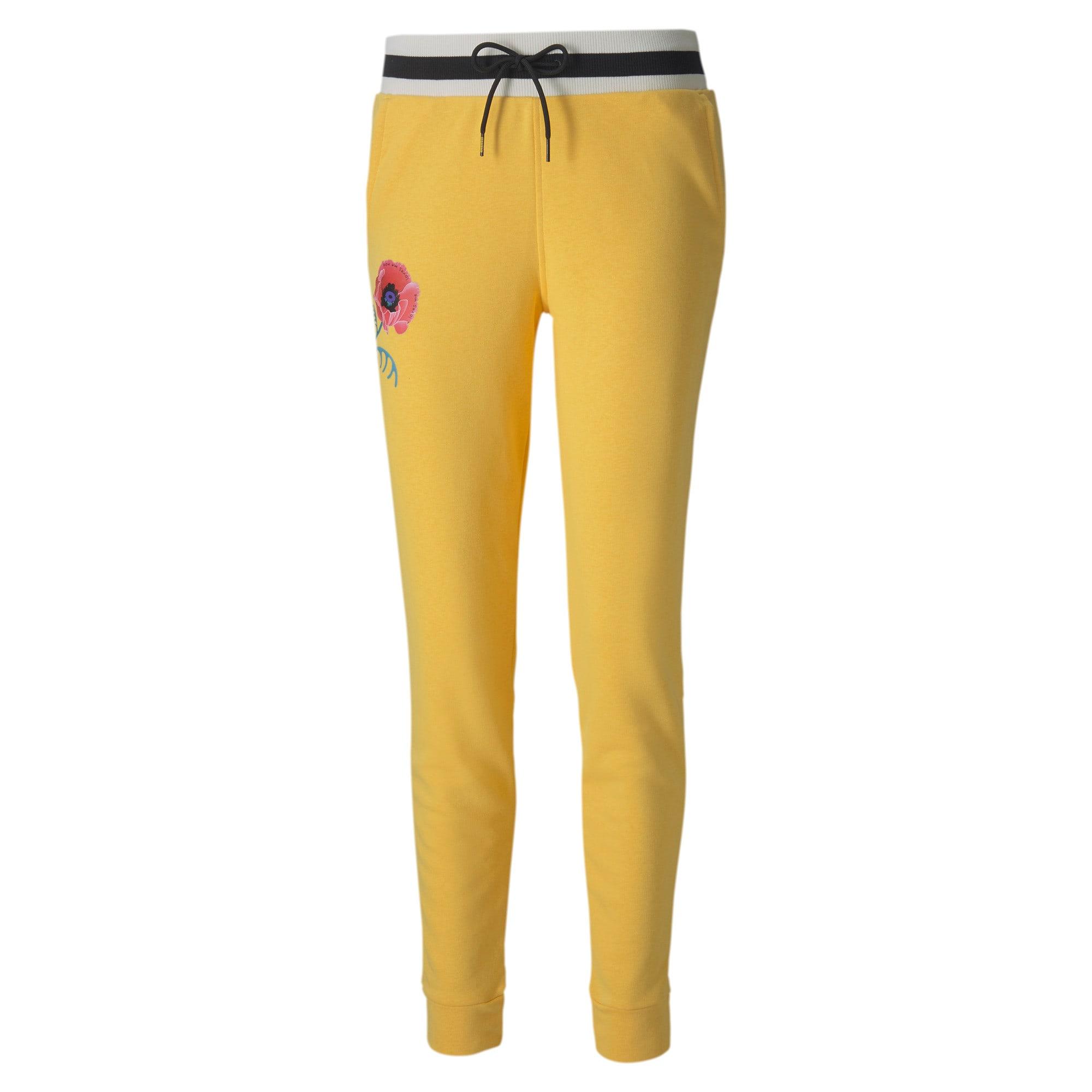 Thumbnail 1 of PUMA x SUE TSAI sweatpants voor dames, Daffodil, medium