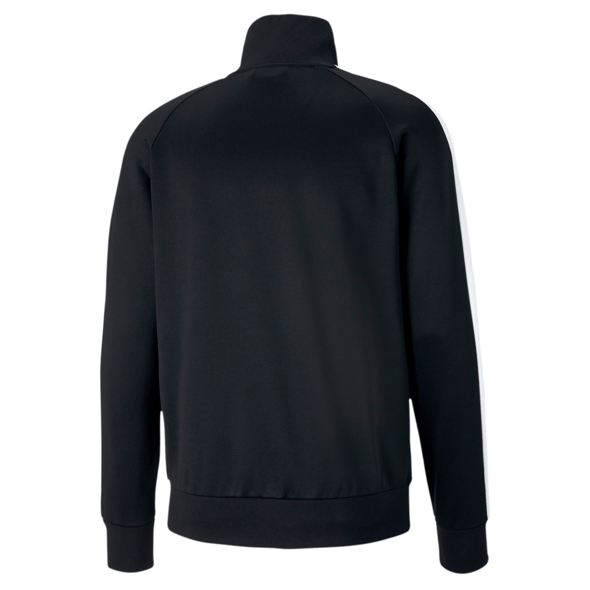 Thumbnail 5 of Iconic T7 Men's Track Jacket, Puma Black, medium
