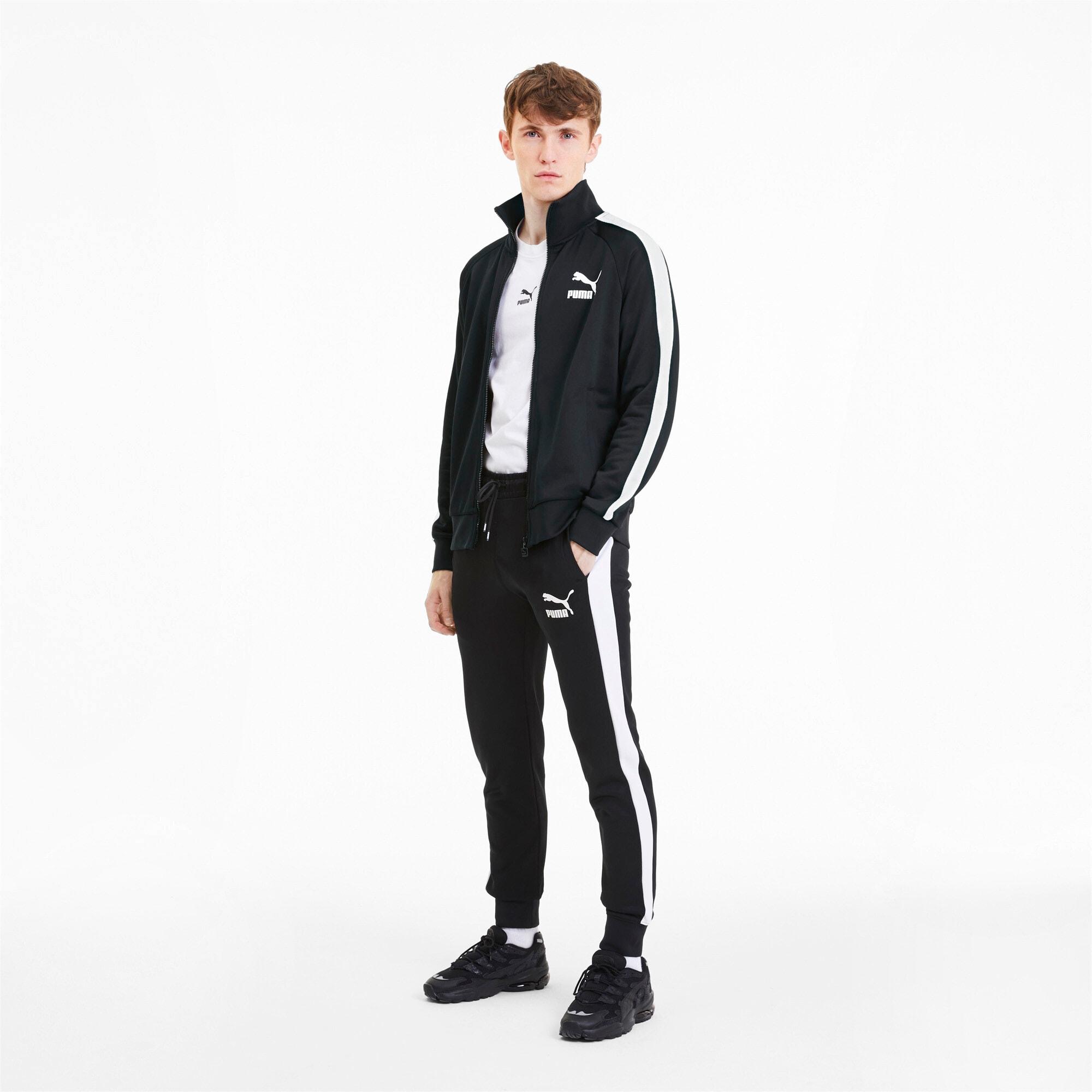 Thumbnail 3 of Iconic T7 Men's Track Jacket, Puma Black, medium